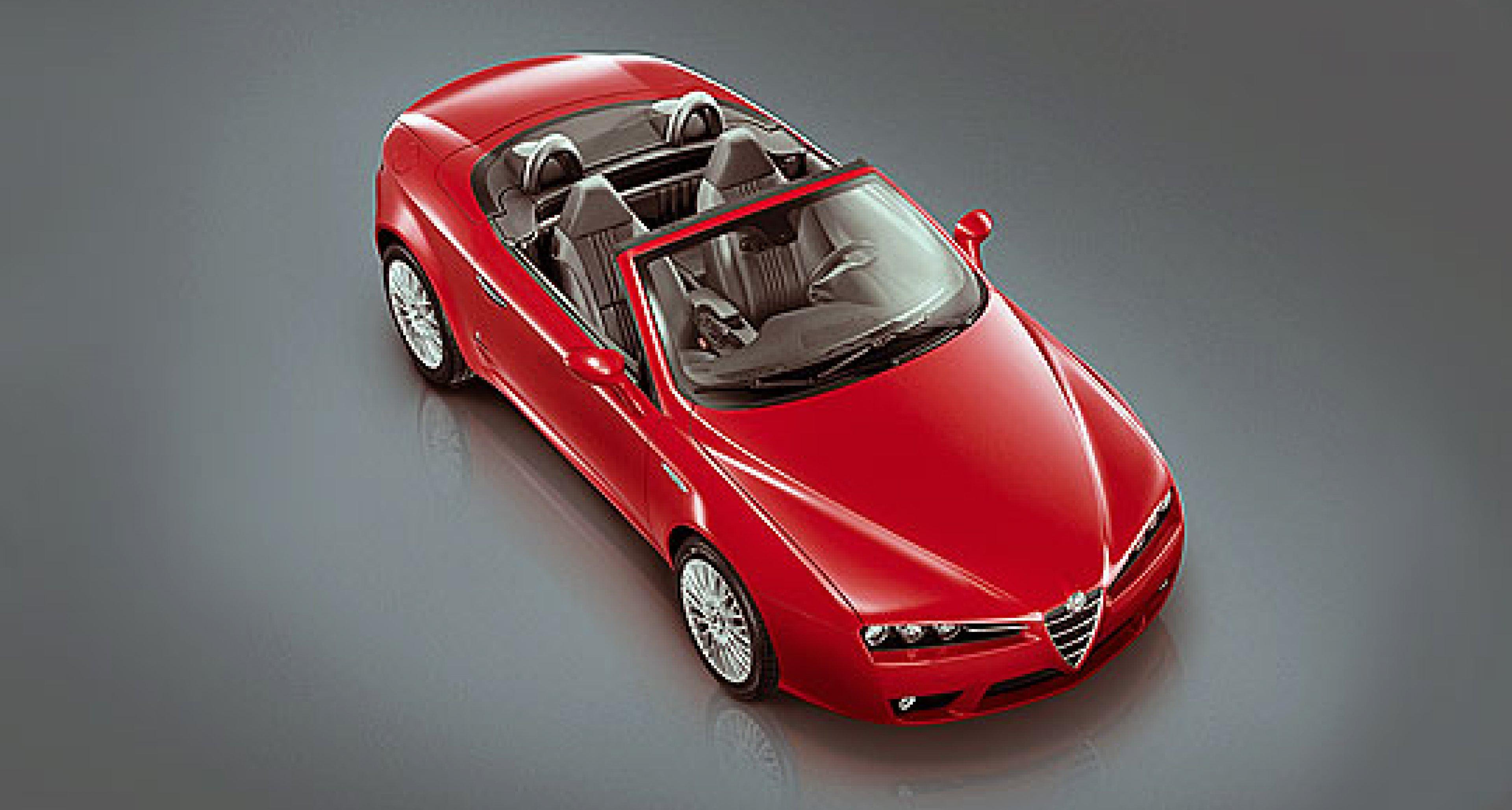 Alfa Romeo 159 Sportwagen and new Alfa Spider