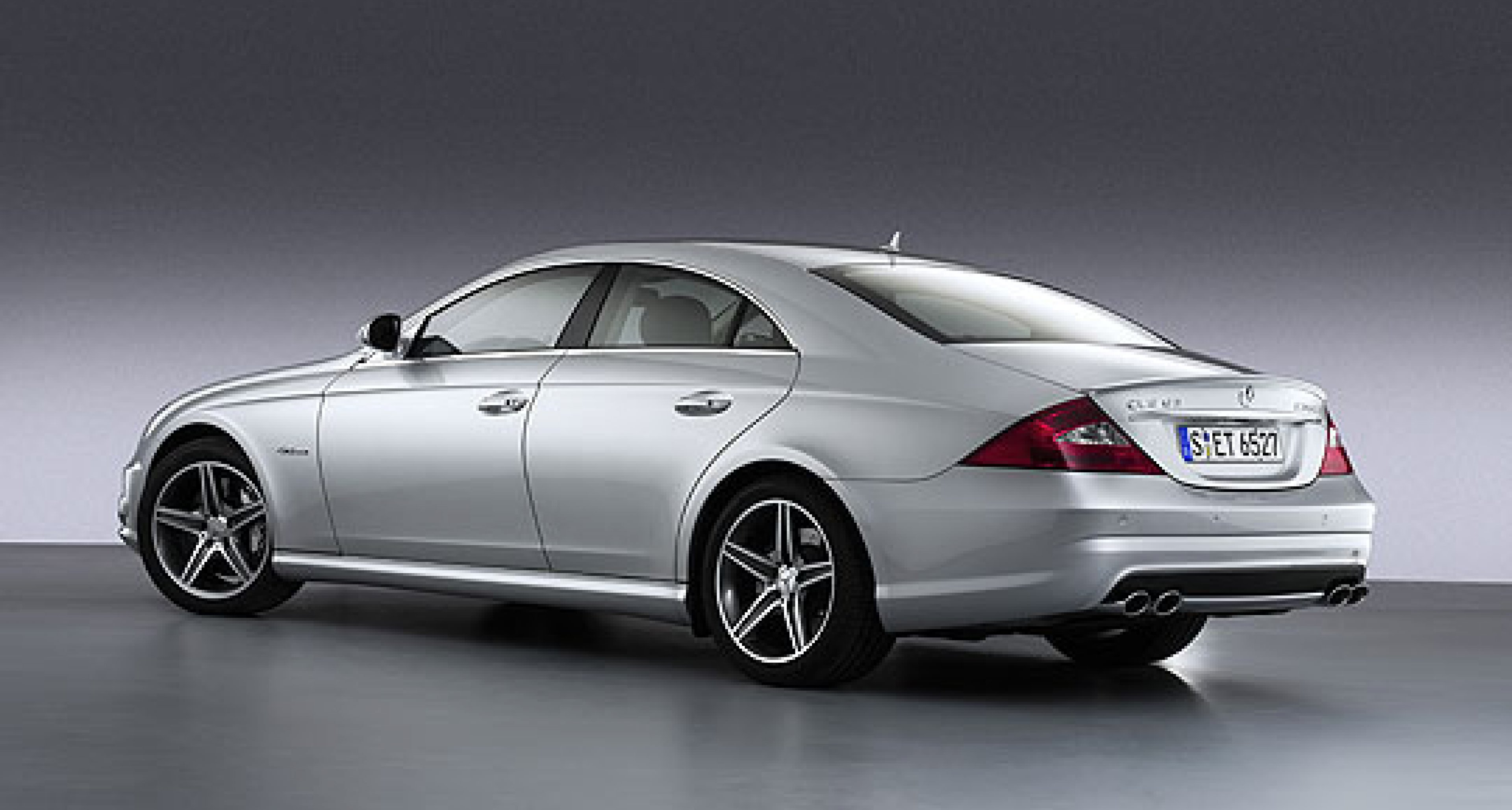 Mercedes CLS 63 AMG and CLK 63 AMG