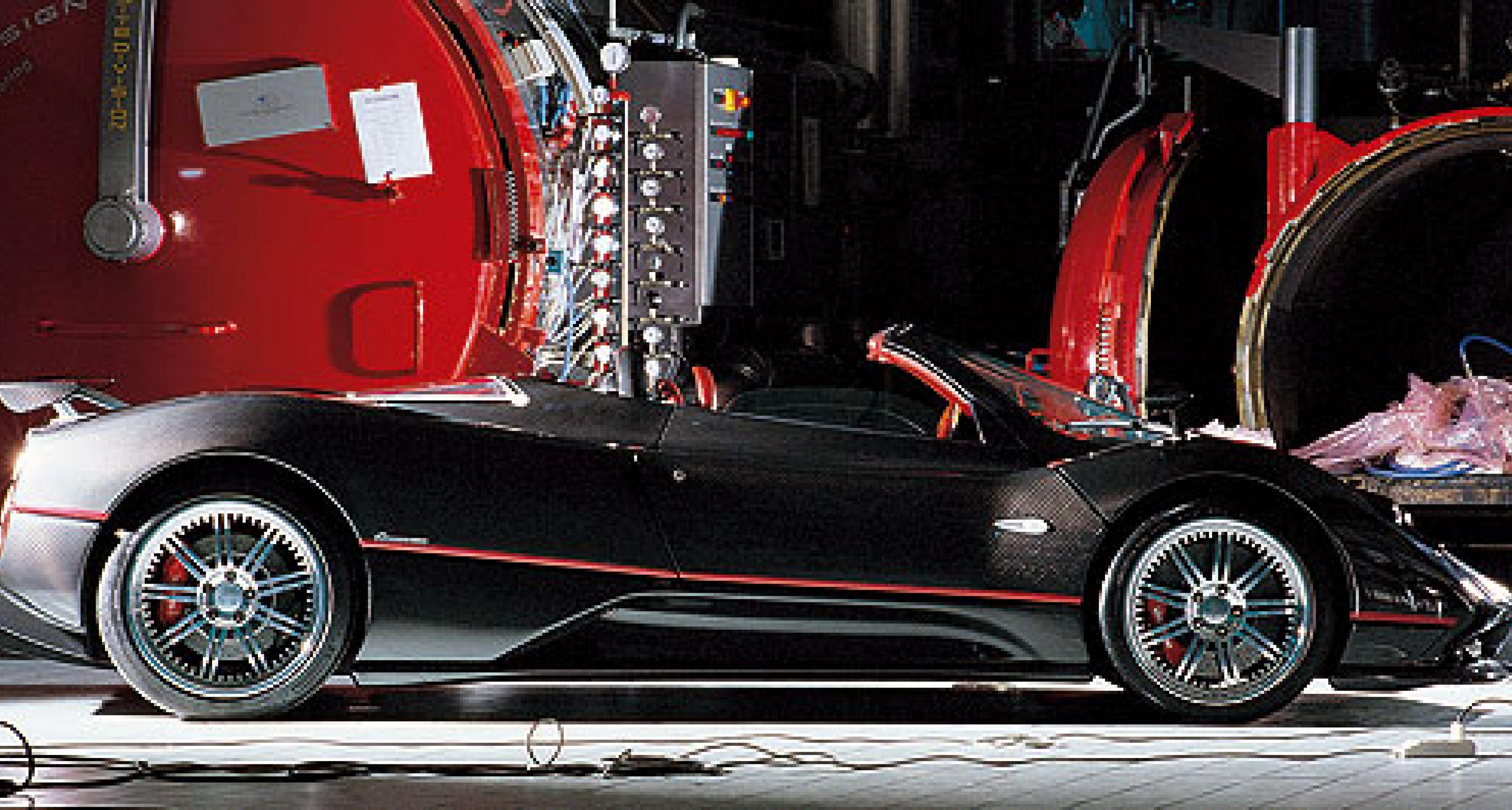 Pagani Zonda Roadster F – schnell wie der Wind!