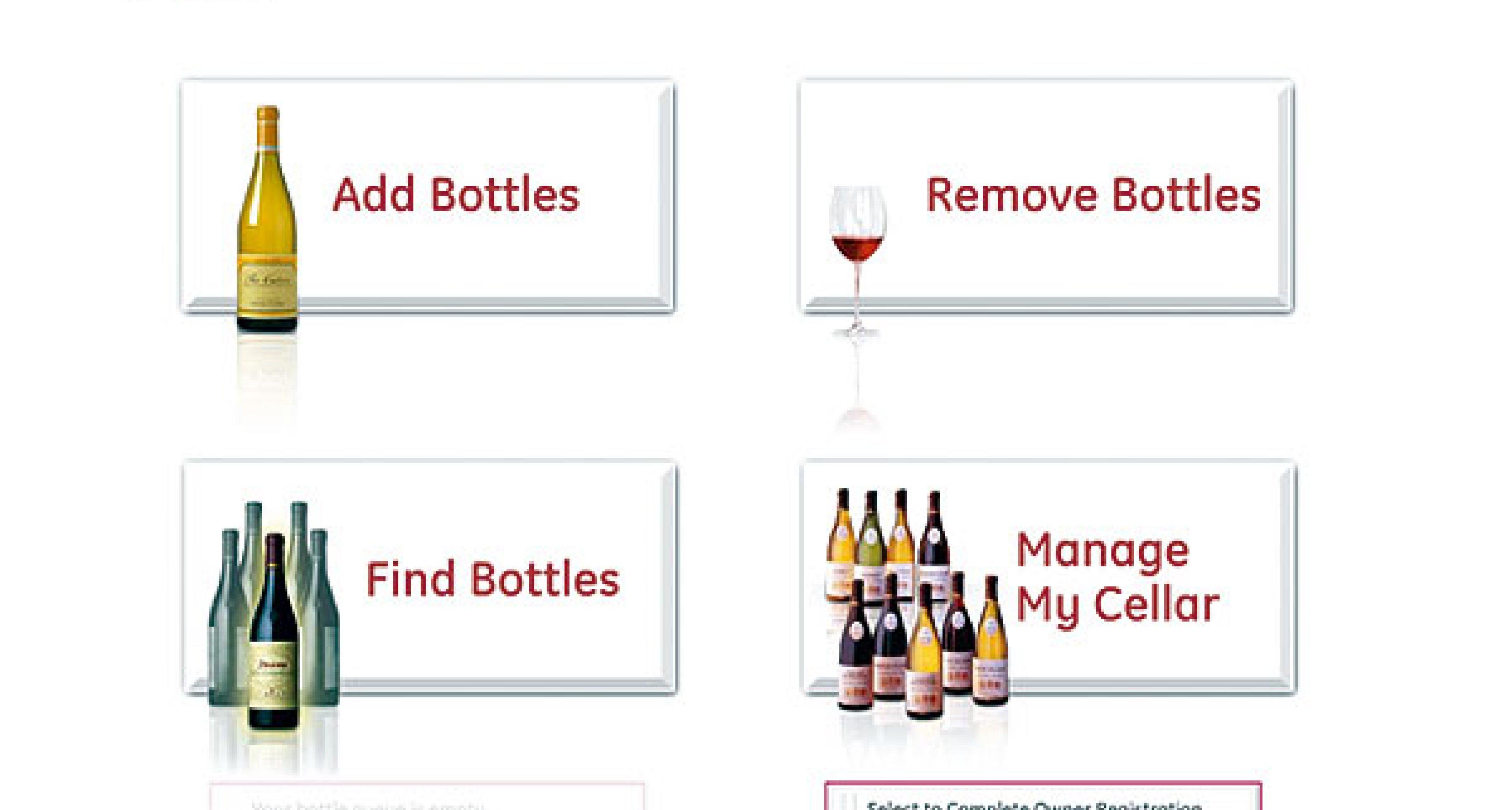 GE Monogram Wine Vault: Der Weintresor