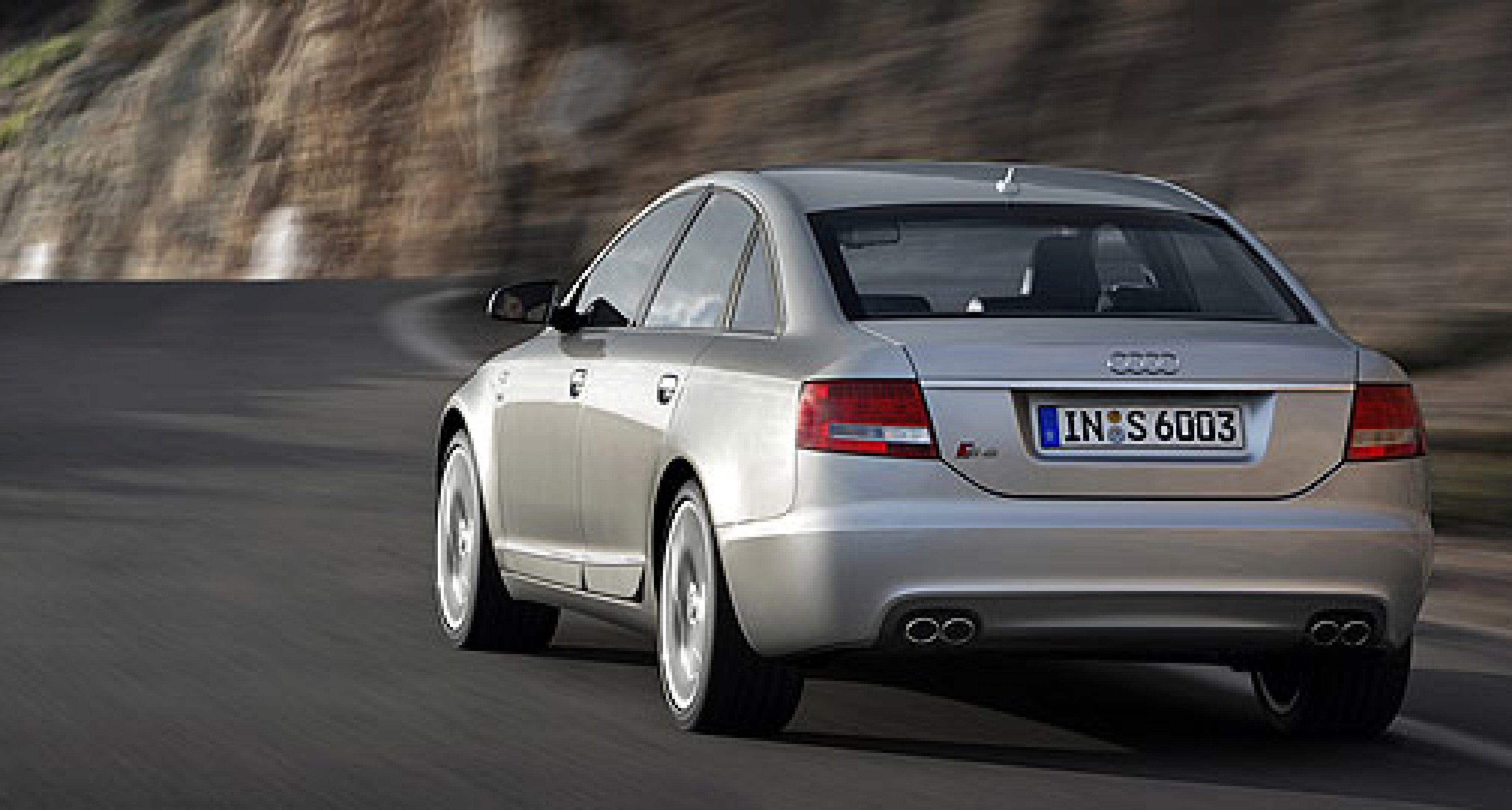 Audi S6 – Leistungsplus zur Markteinführung