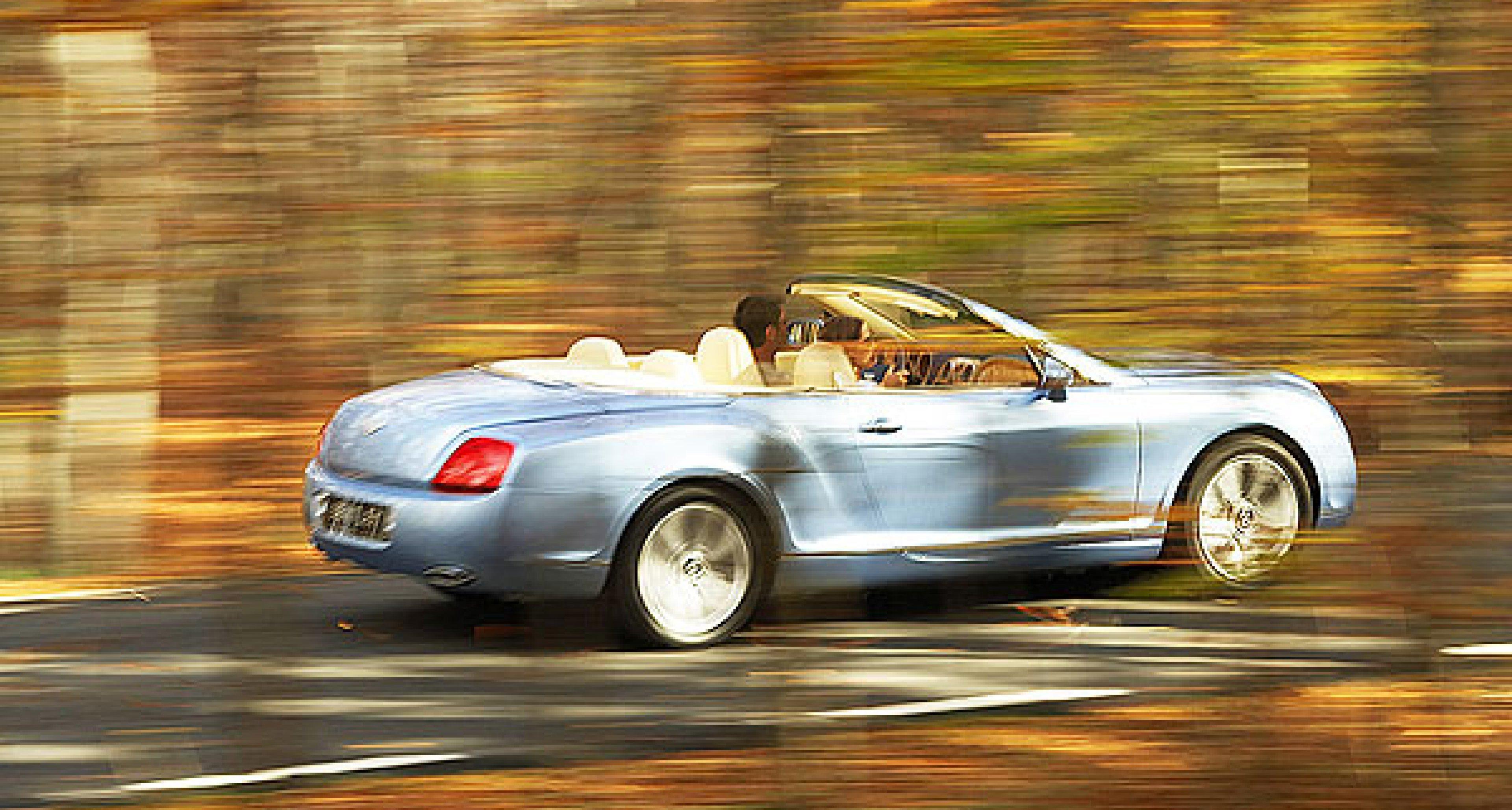 Bentley Continental GTC in New York