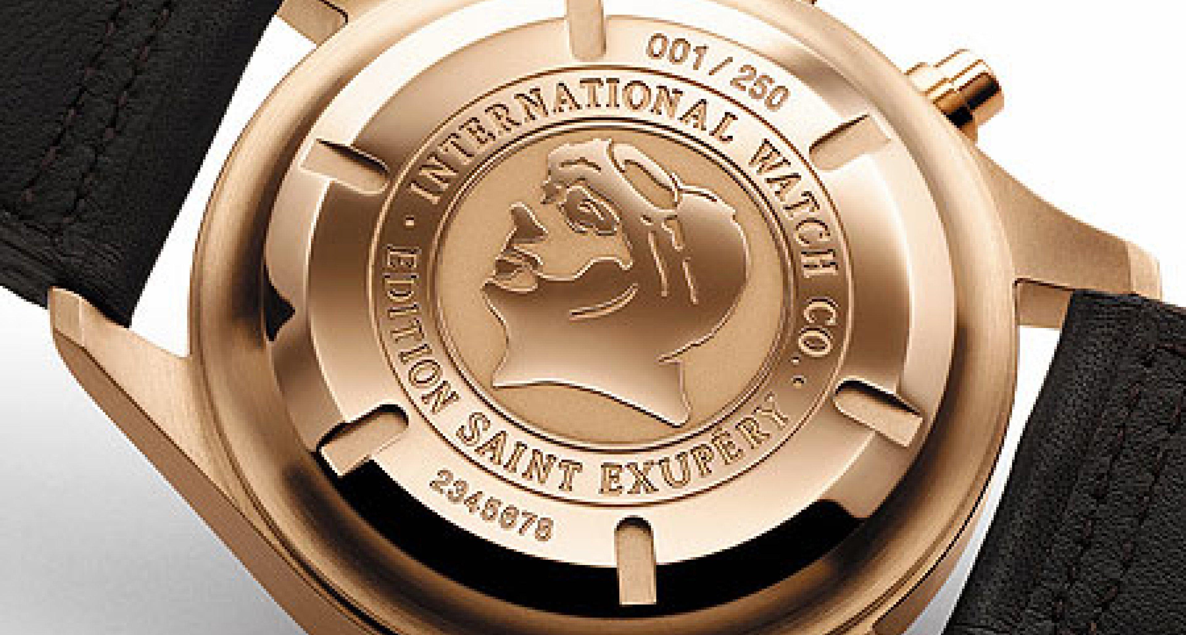 """IWC Edition Antoine de Saint Exupéry:  Eine Uhr für """"Saint Ex"""""""