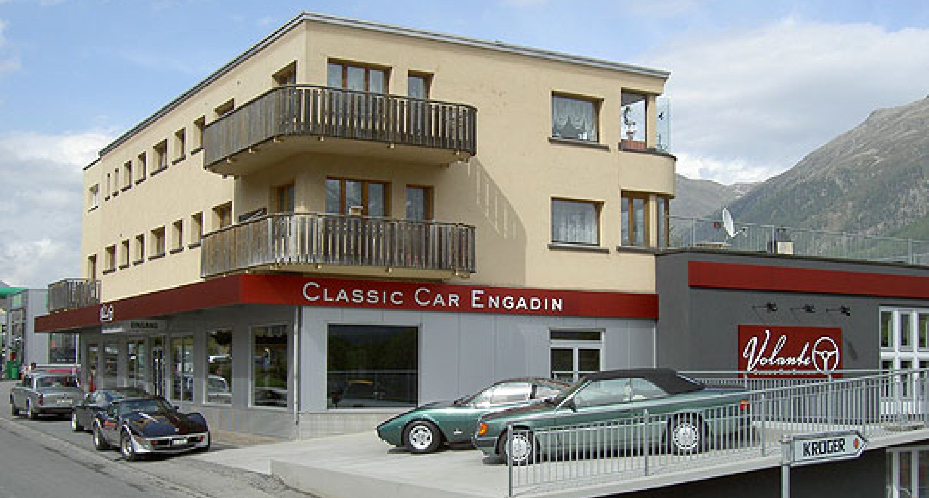 Classic Car Culture in the Engadine