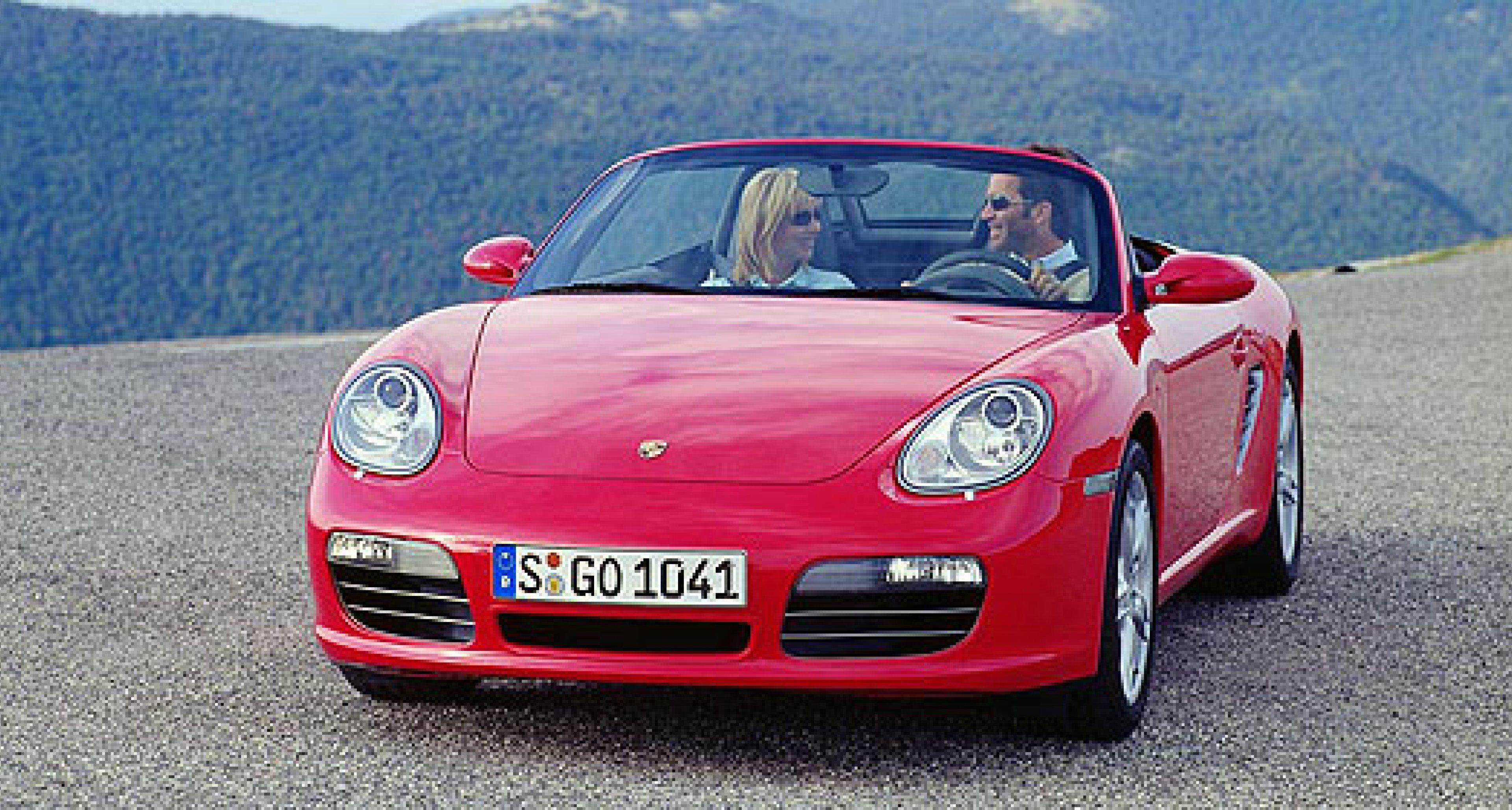 2007 Porsche Boxster to receive more power