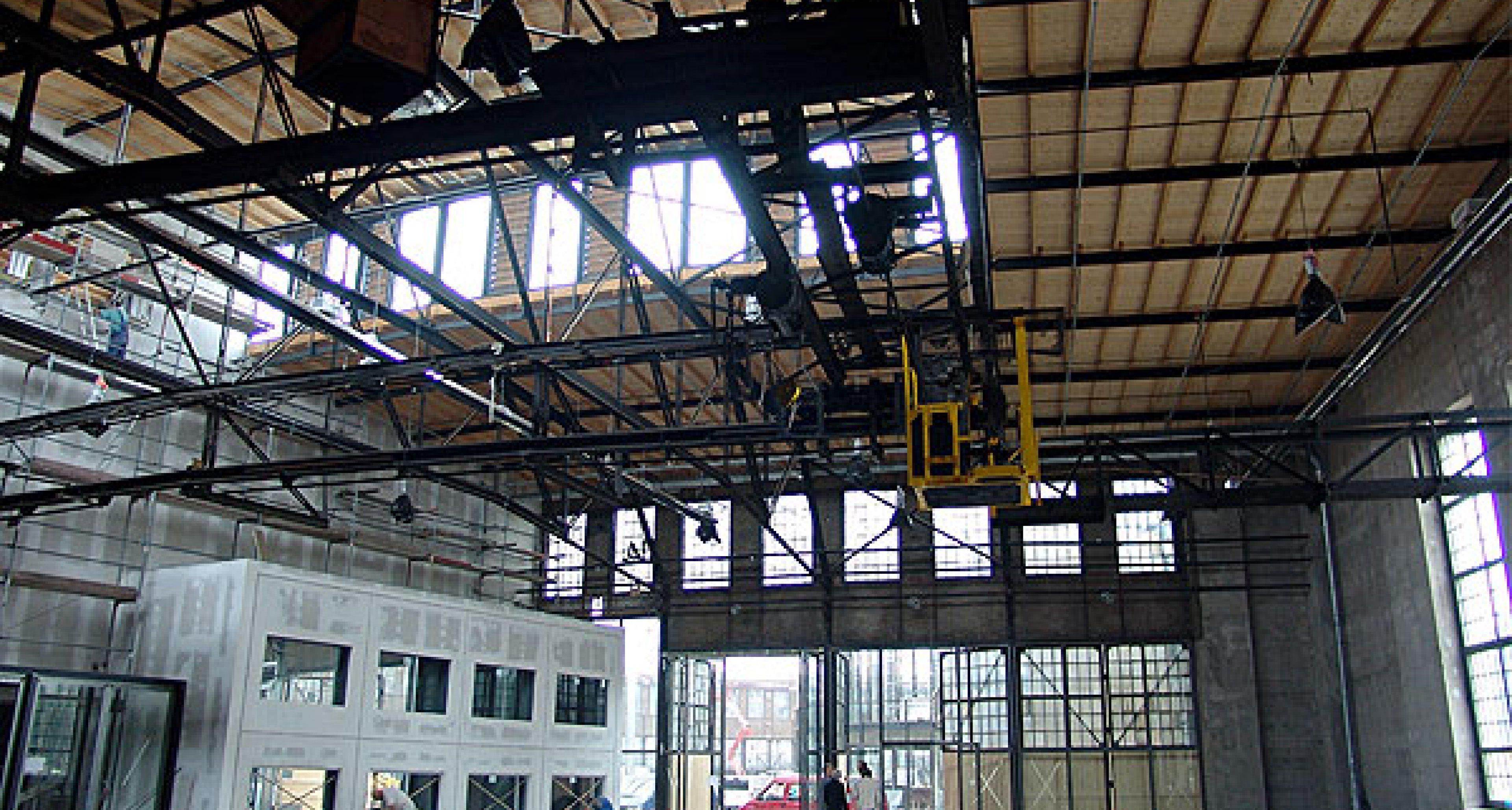 Meilenwerk Düsseldorf: Bahn frei!