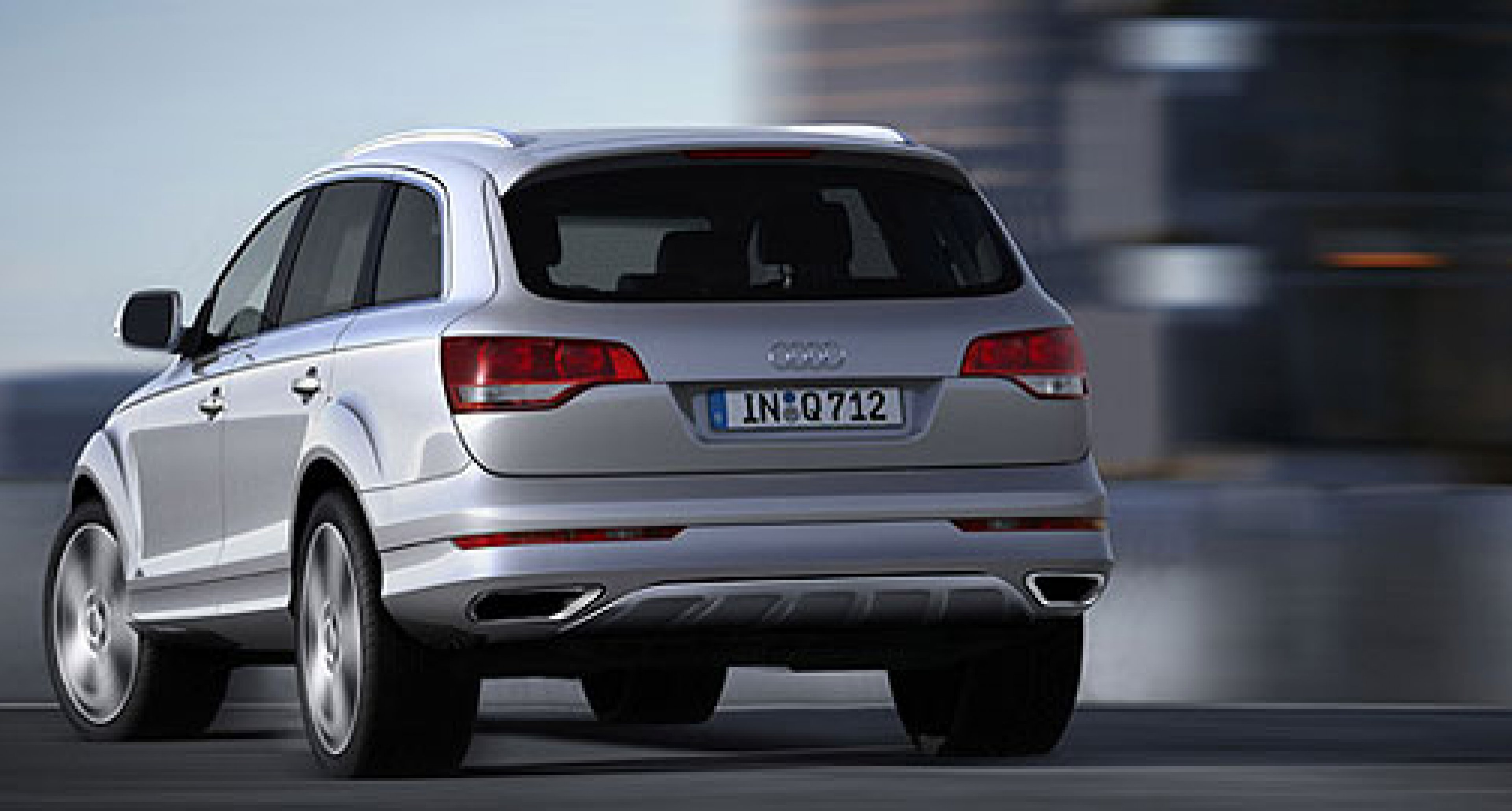 Audi Q7 with V12 diesel: 500 HP and 1,000 Nm...