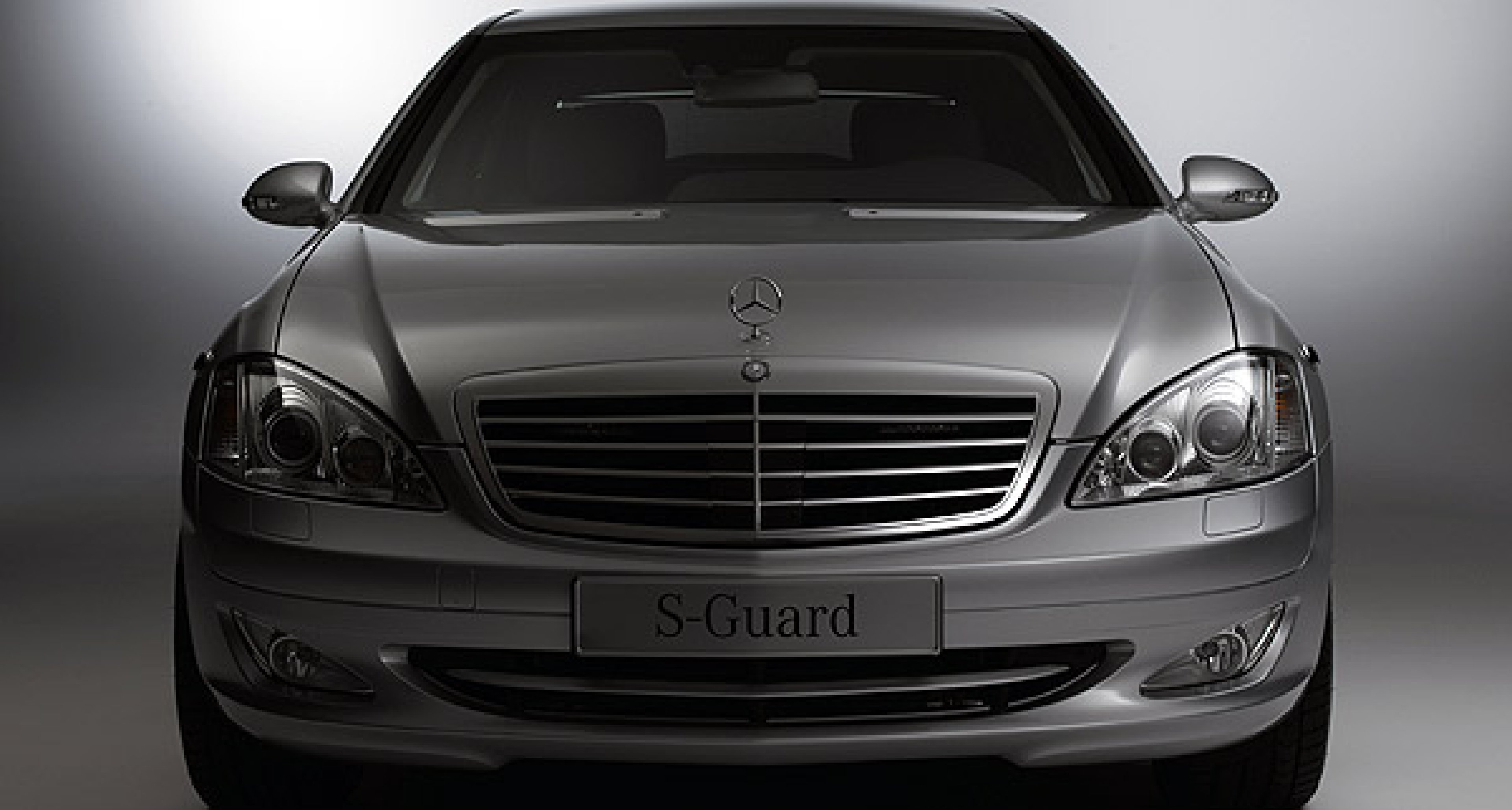 The new Mercedes-Benz S-Guard