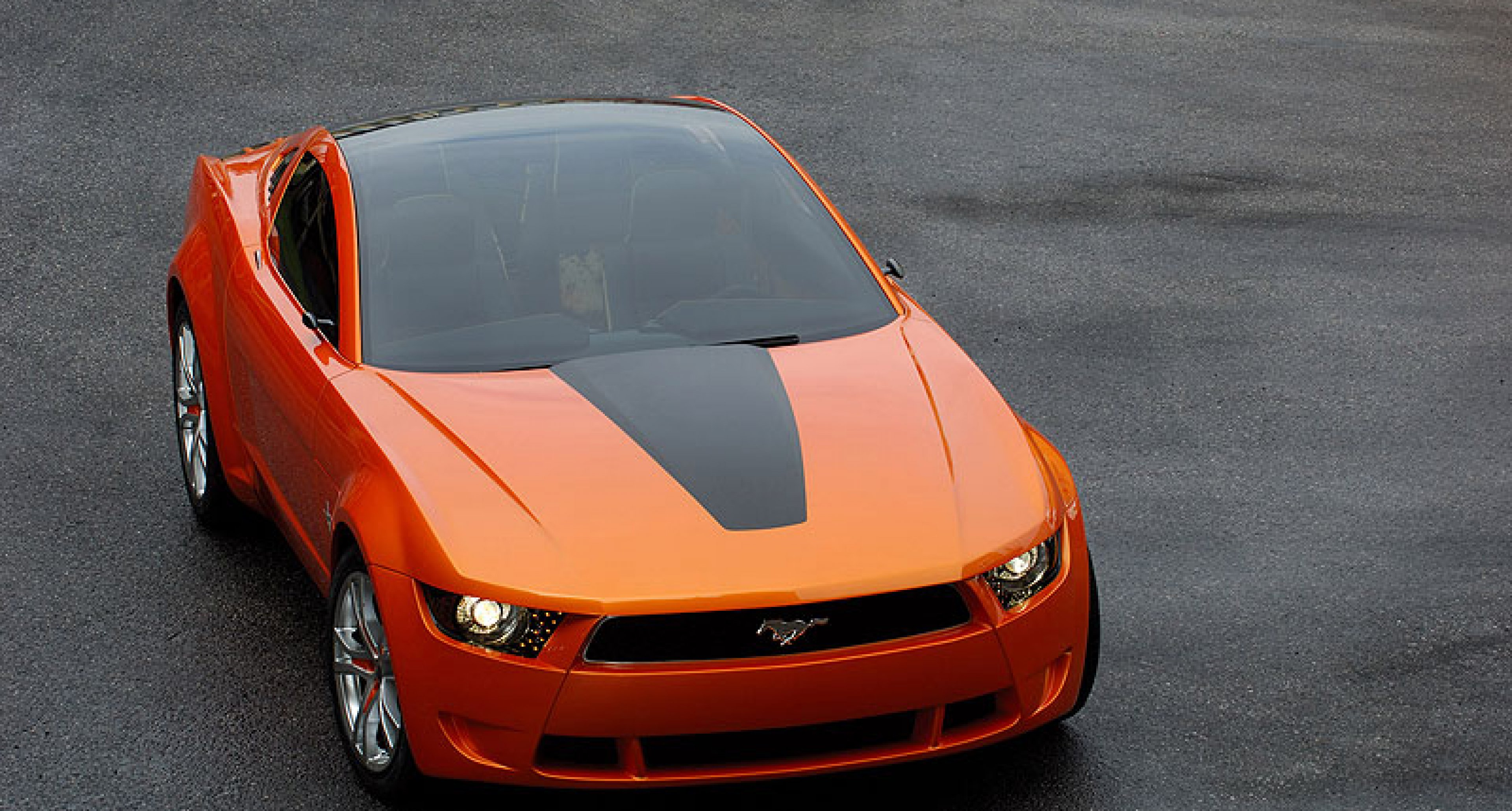 Ford Mustang by Giugiaro at LA Show