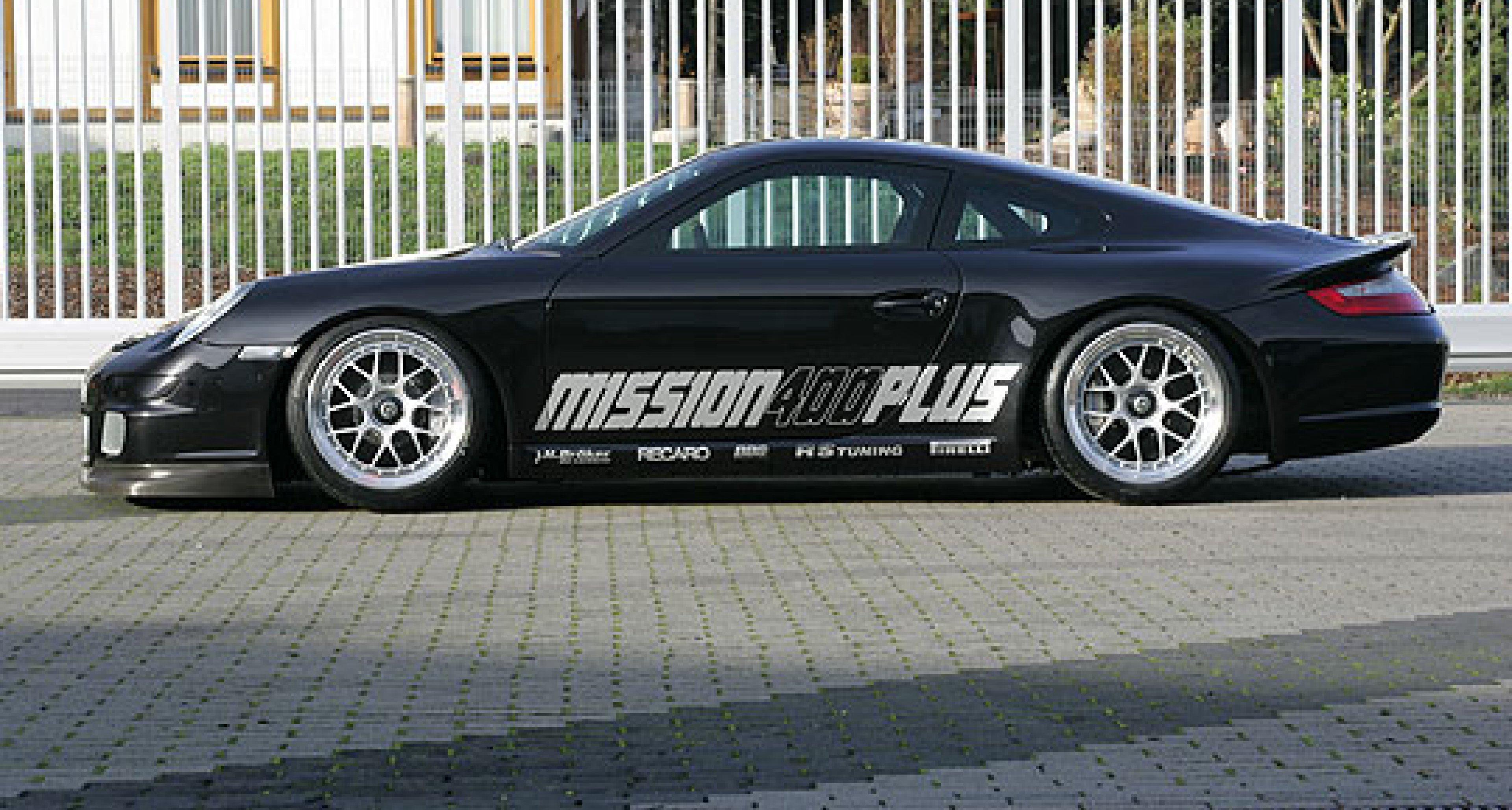 Porsche Turbo von H&R – Projekt 400 km/h plus