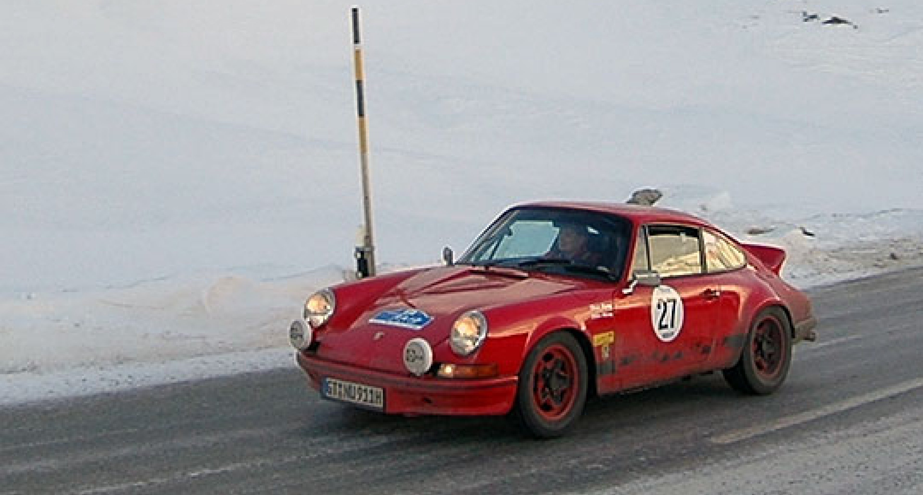 Classic rallying in the snow - the 2007 WinterRAID