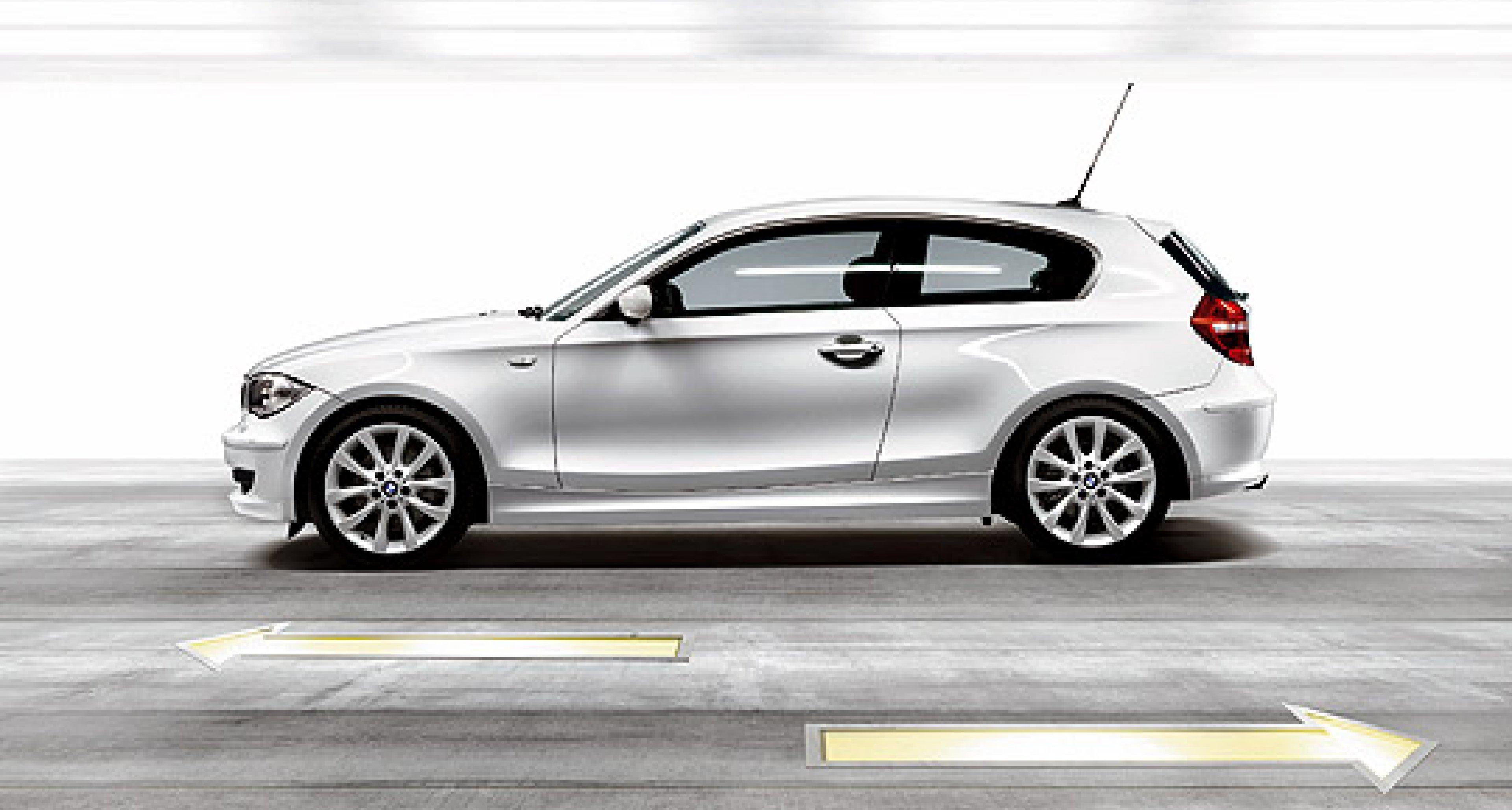 New BMW 1-Series range includes three-door