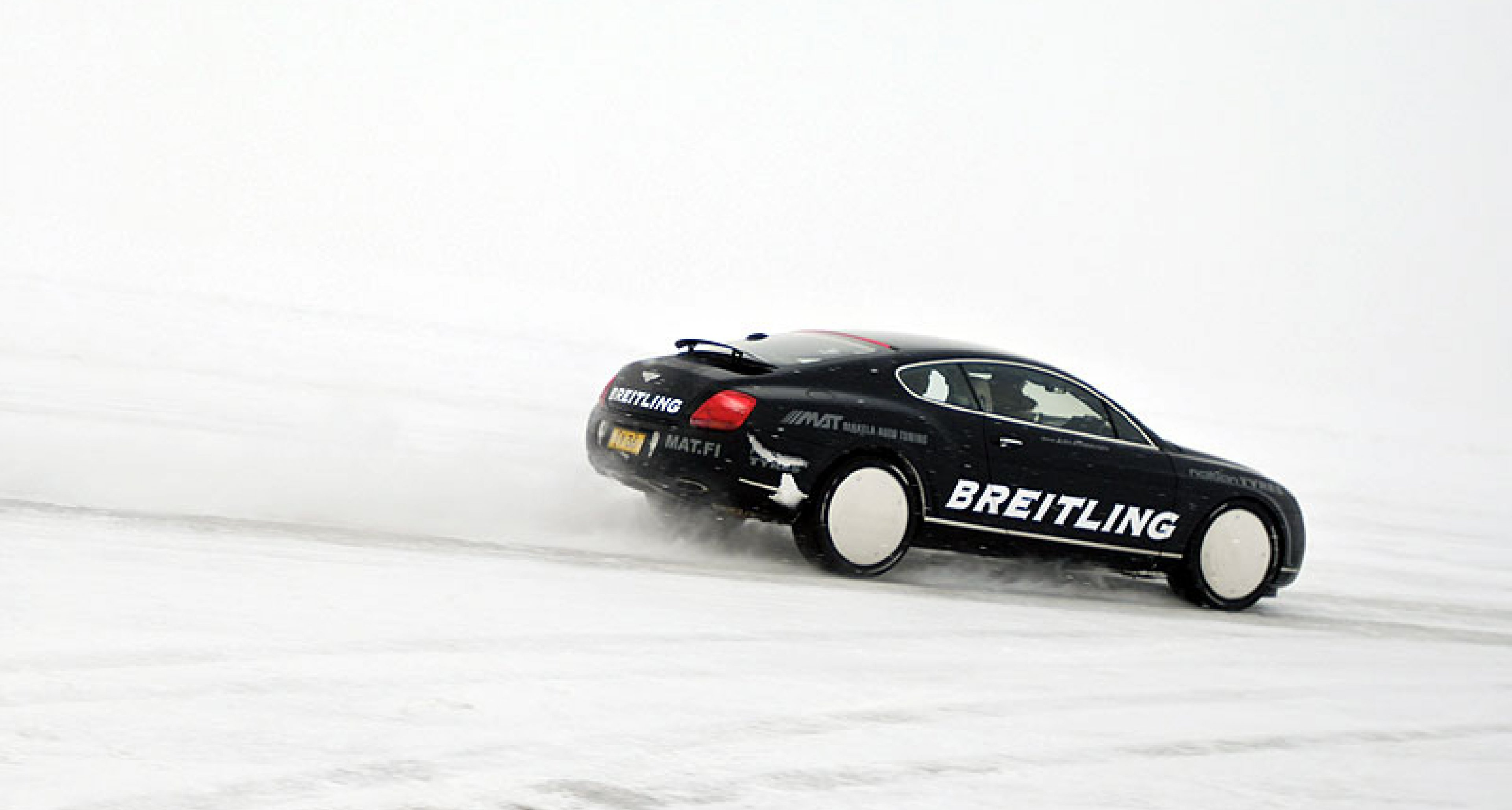 World Speed Record on Ice for Bentley Continental GT
