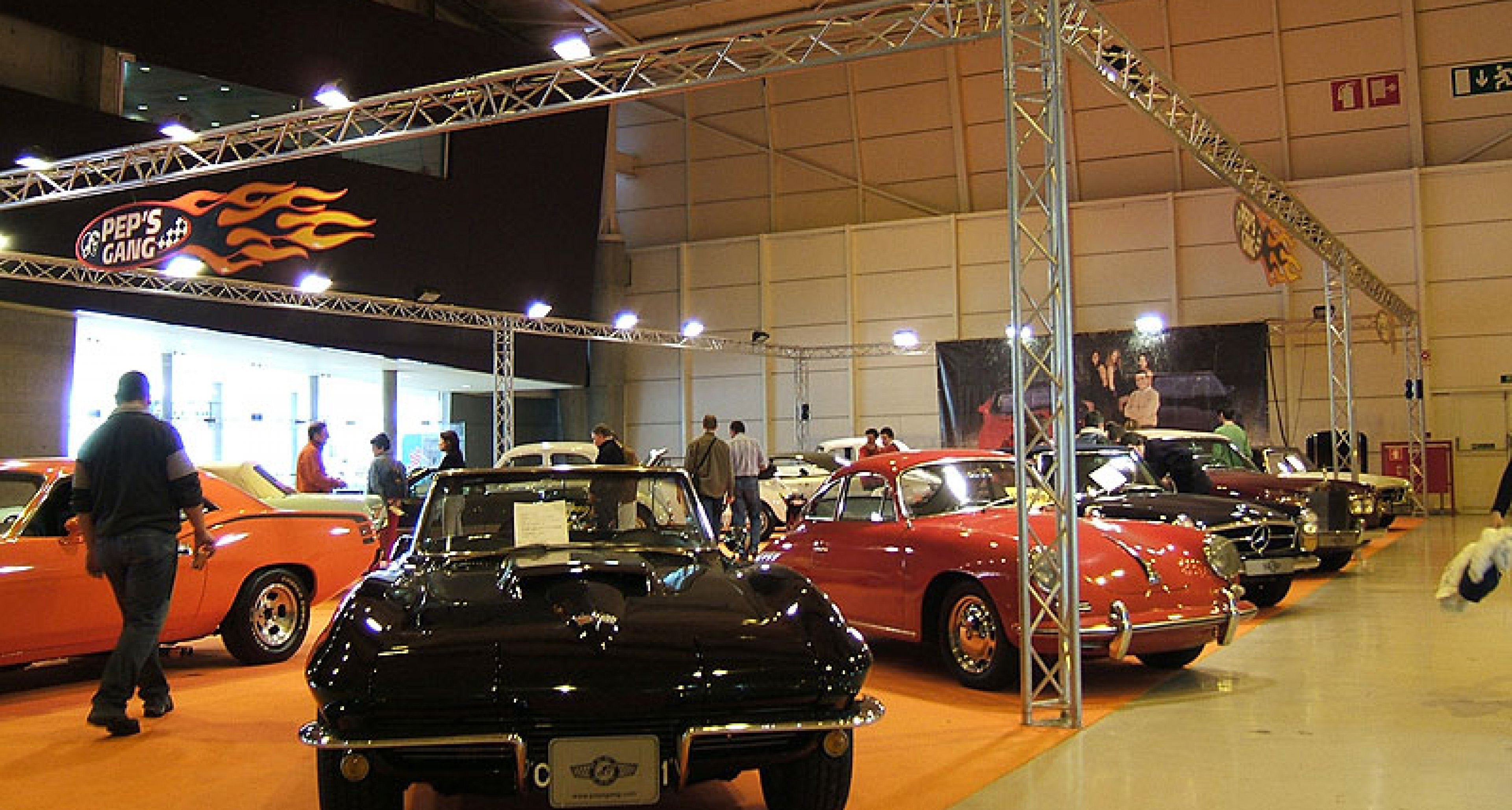 Motorclássico Classic Car Show in Lisbon