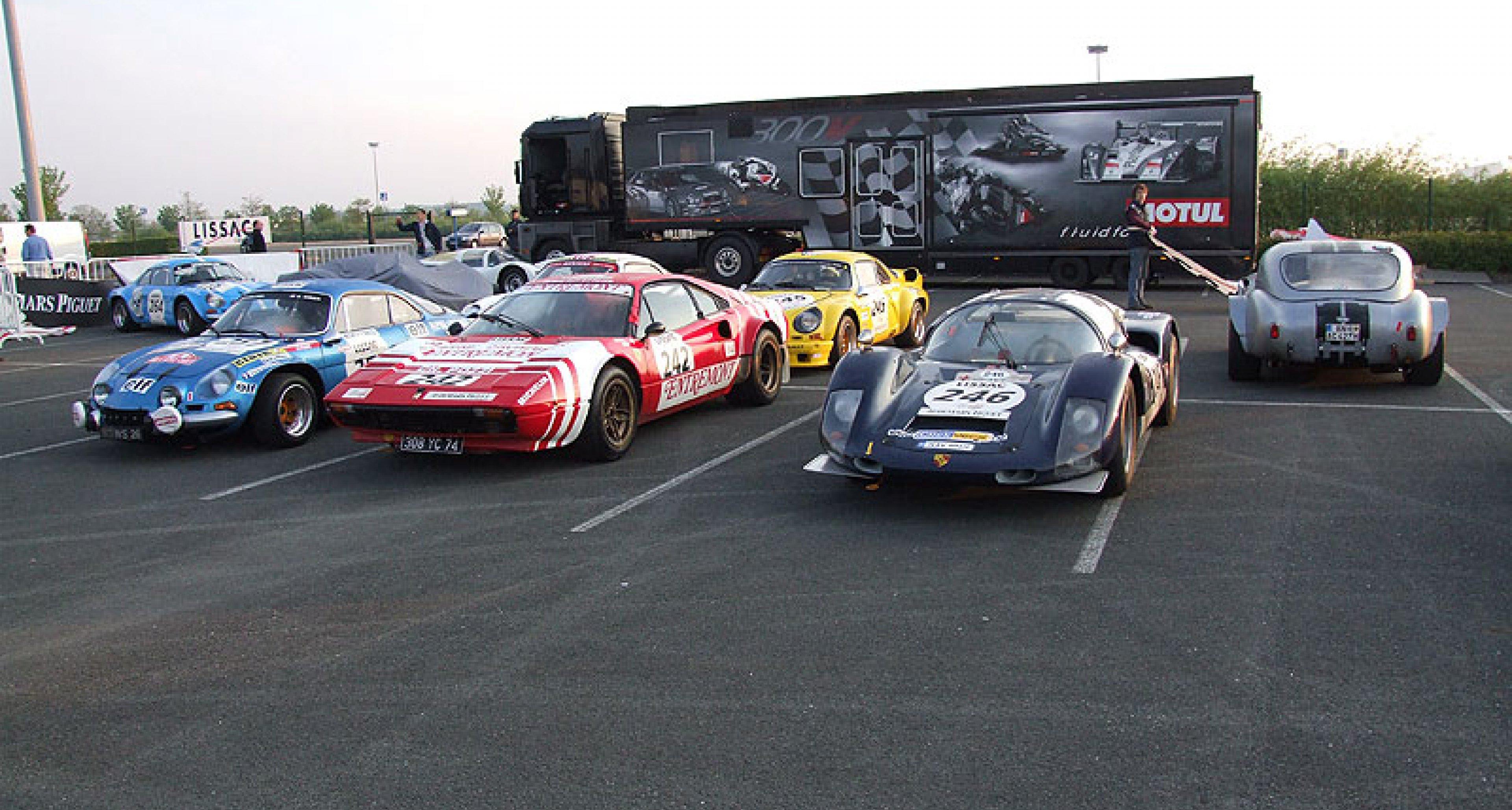 Tour Auto Lissac 2007