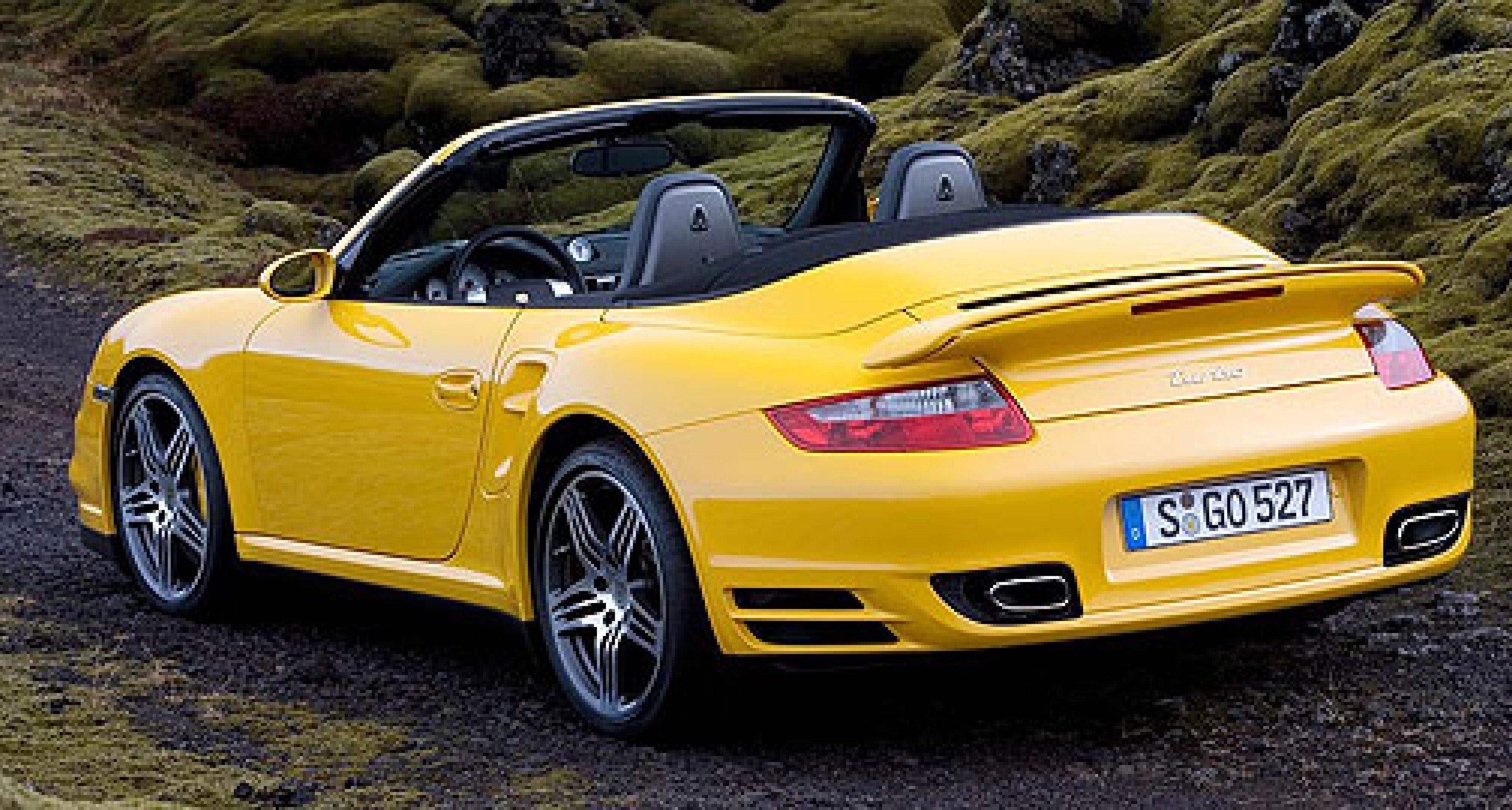 Porsche 911 Turbo Cabrio – Neueröffnung