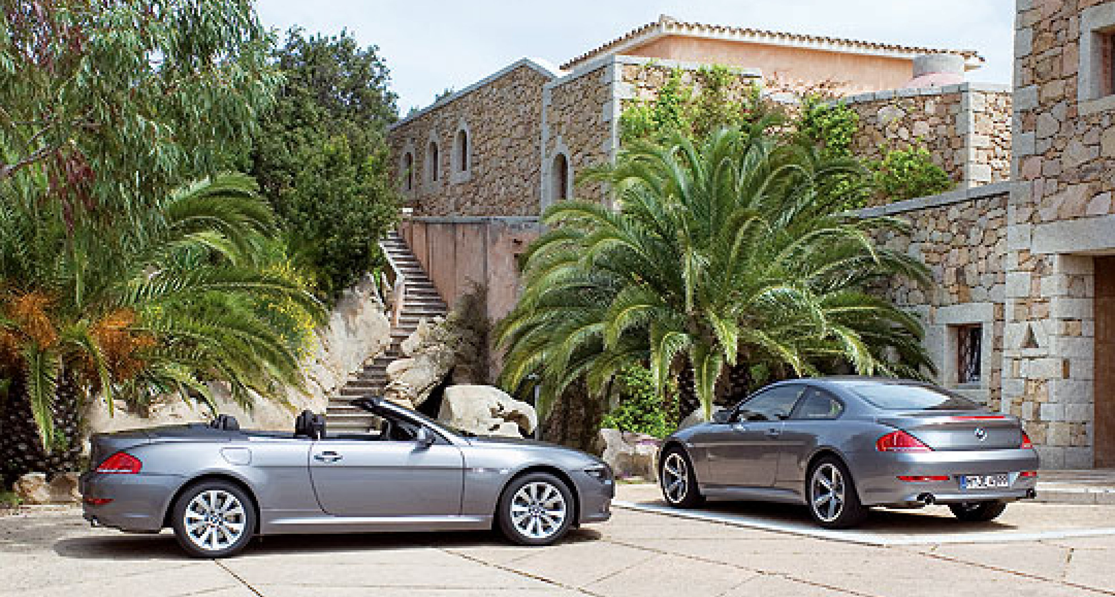 BMW 6-Series changes for 2008 MY