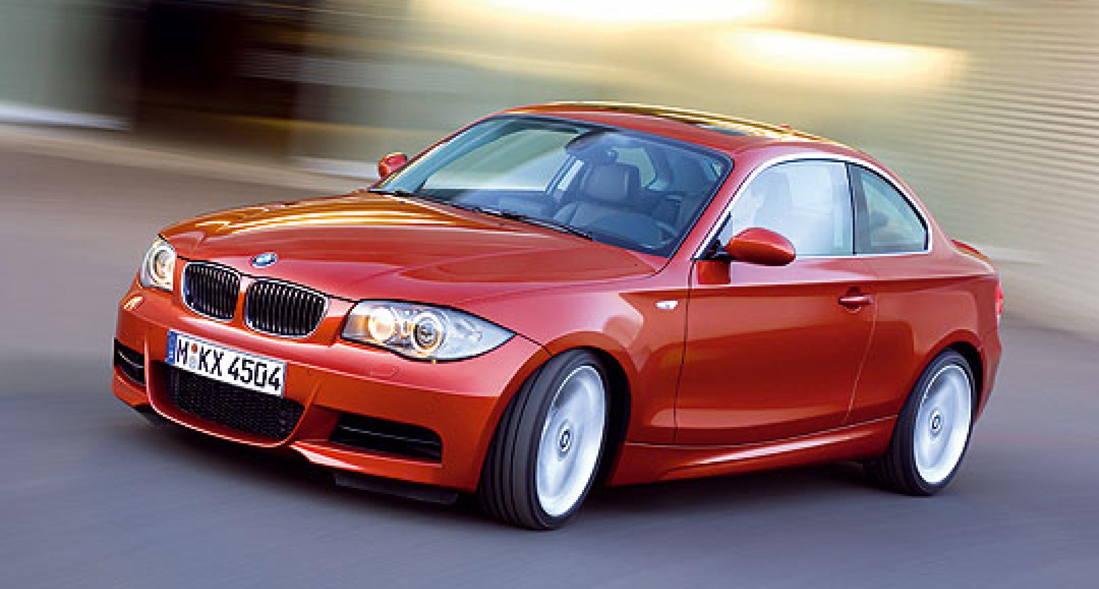 BMW 1er Coupé – Vorsicht Stufe!