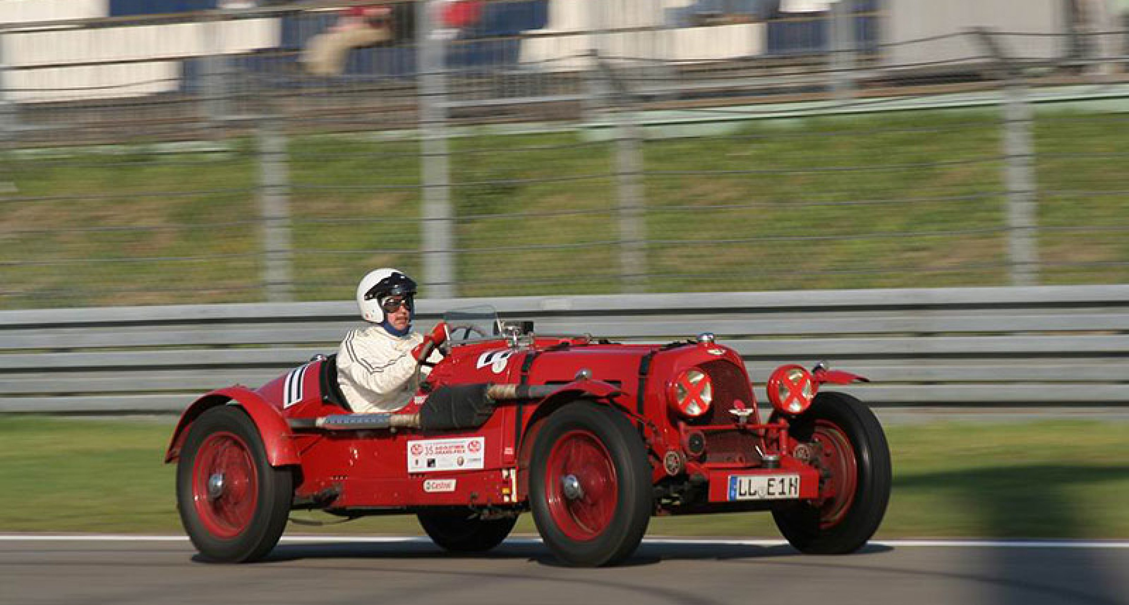 Team Classic Driver beim Oldtimer-Grand-Prix 2009