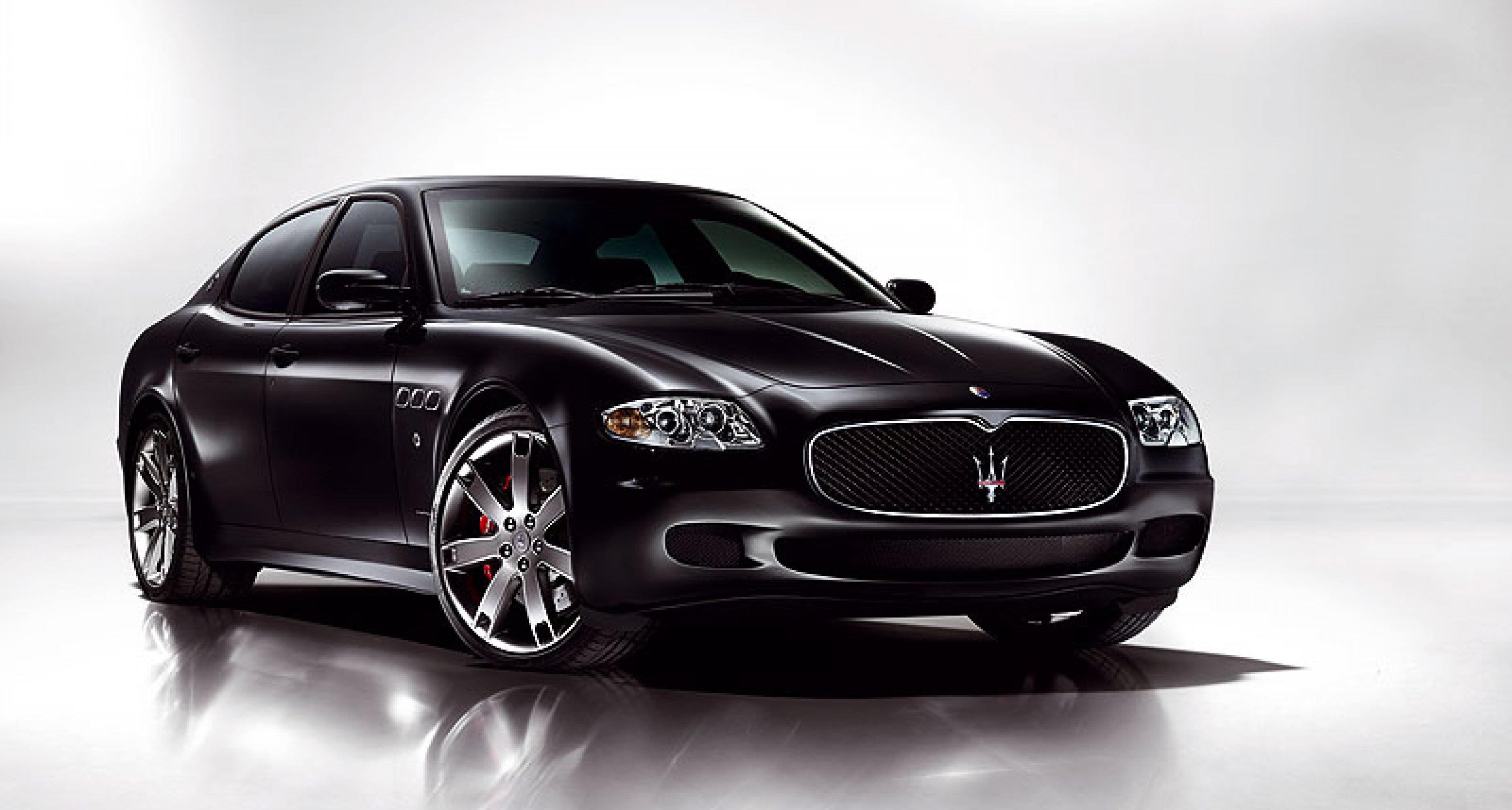 The new  Maserati Quattroporte Sport GT S