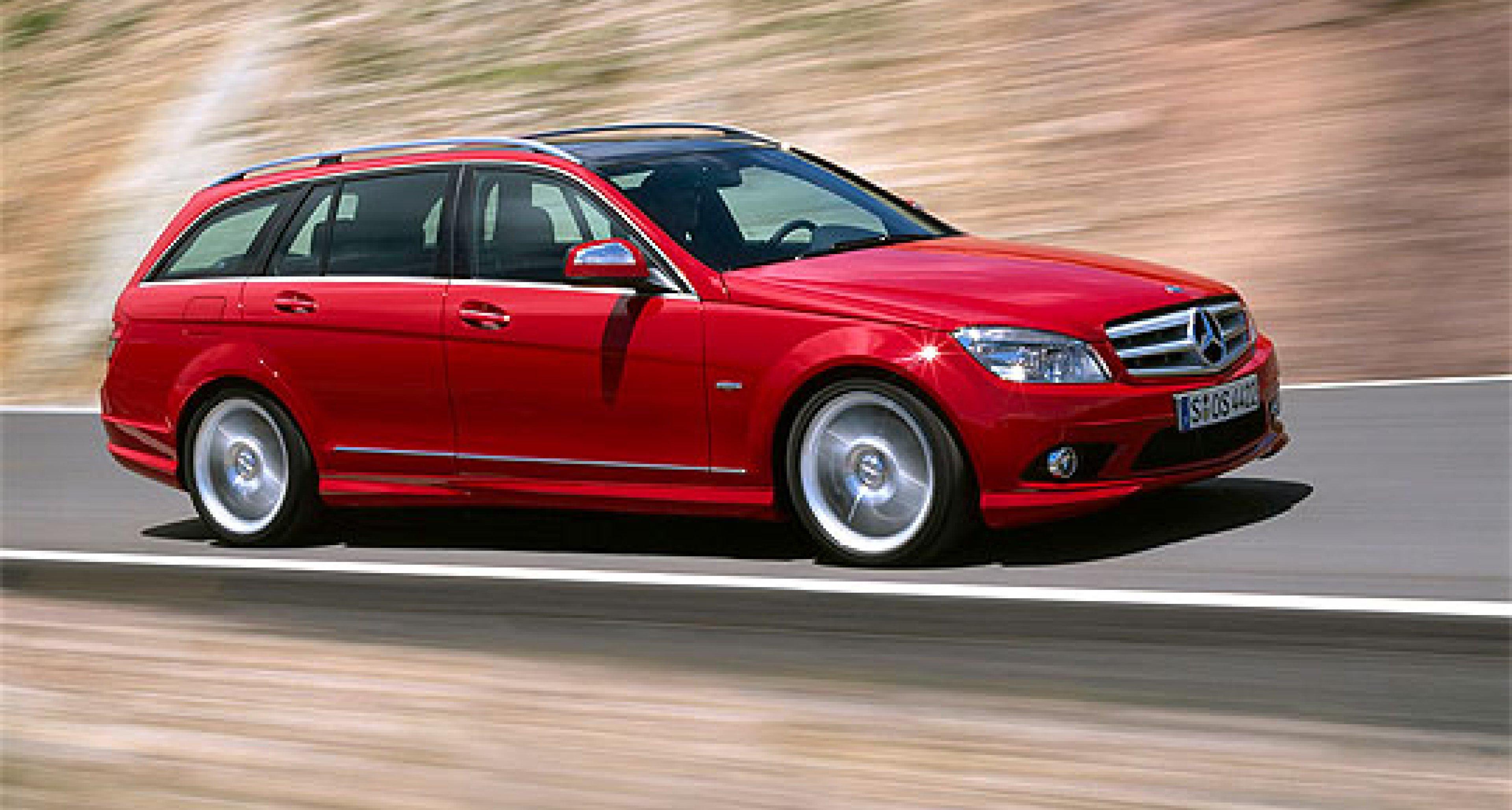 Mercedes-Benz C-Klasse T-Modell – Neue Kombitalente