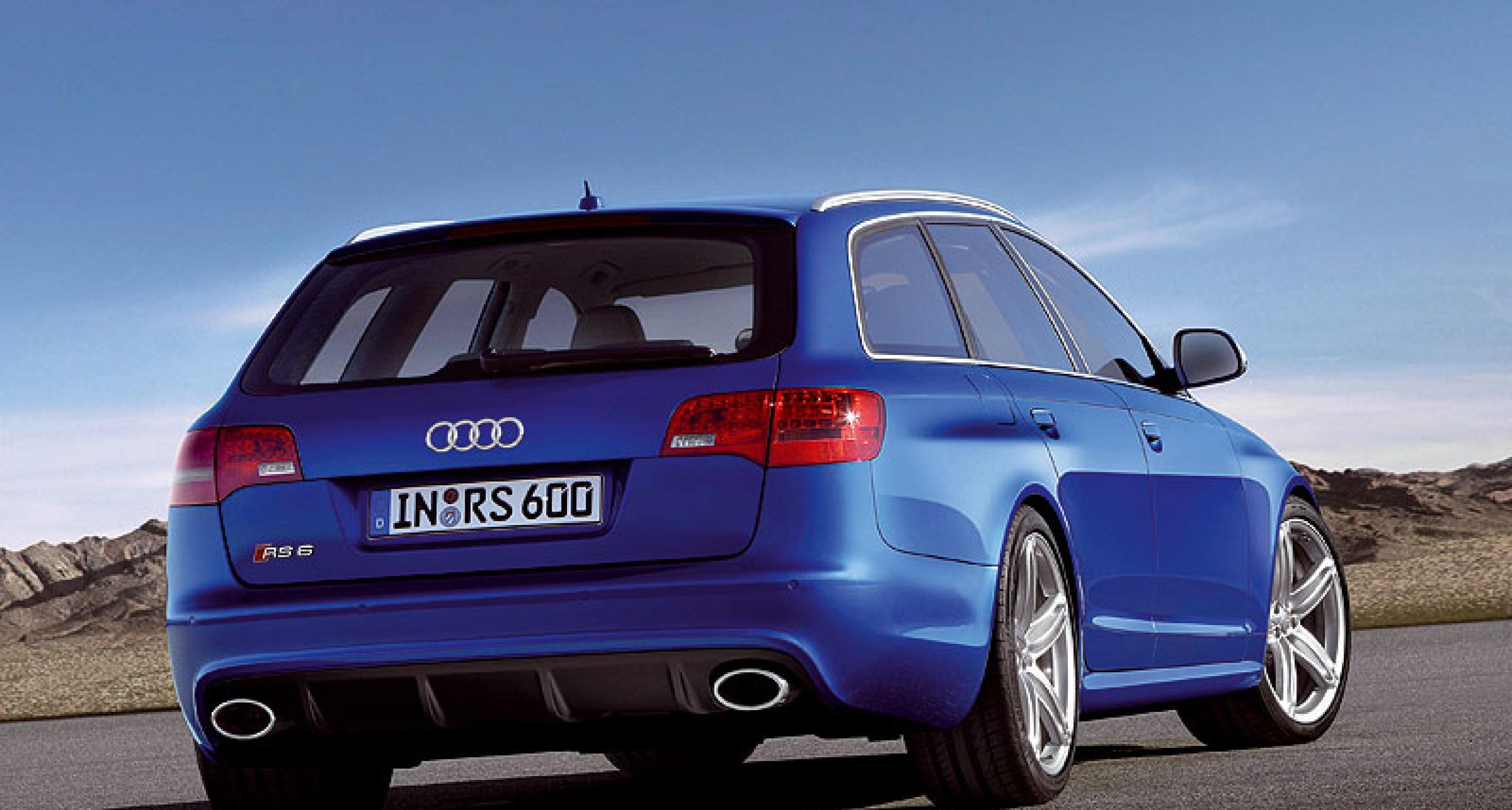 New Audi RS 6 Avant