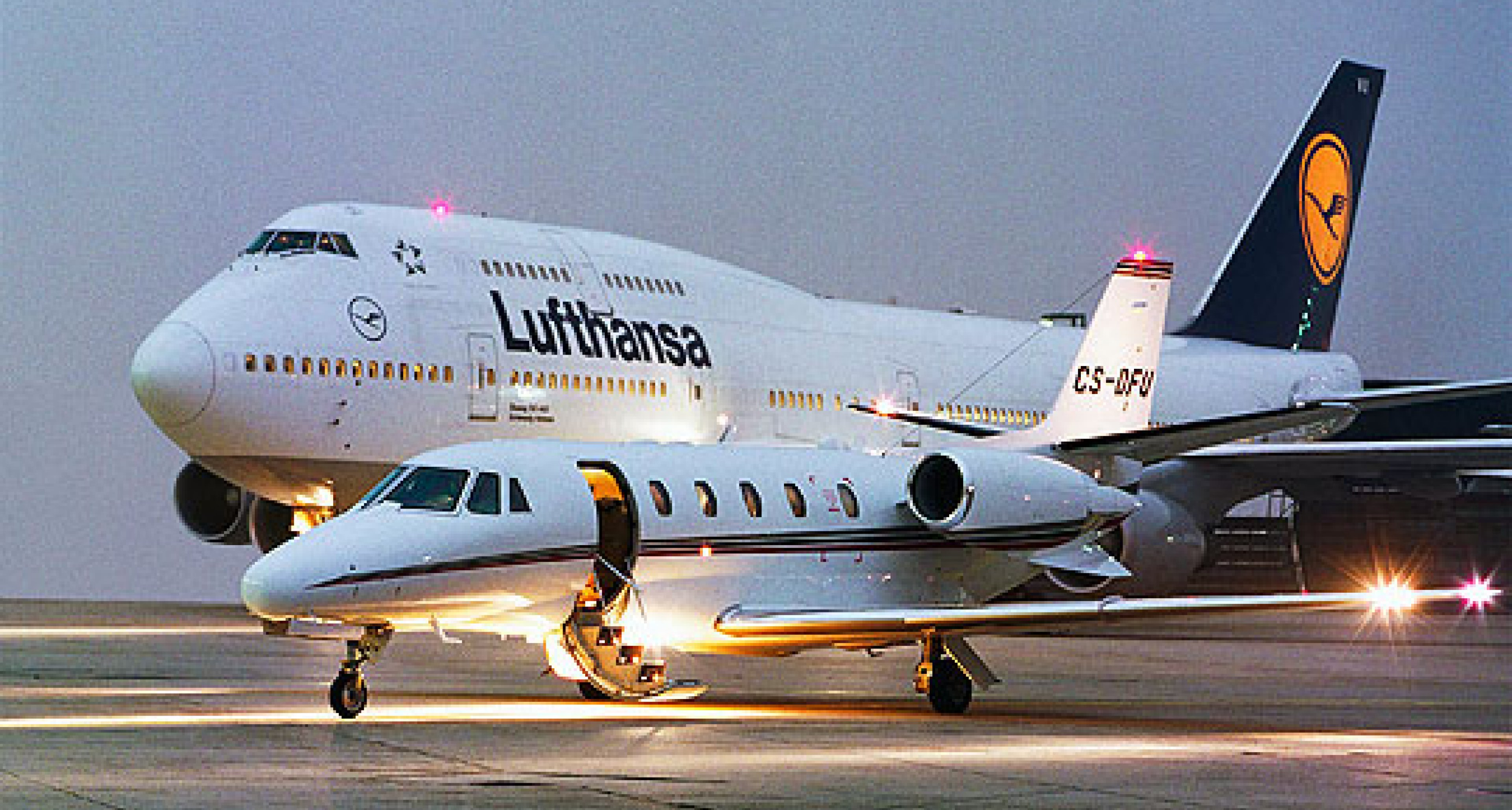 Lufthansa Private Jet: Flights on Demand