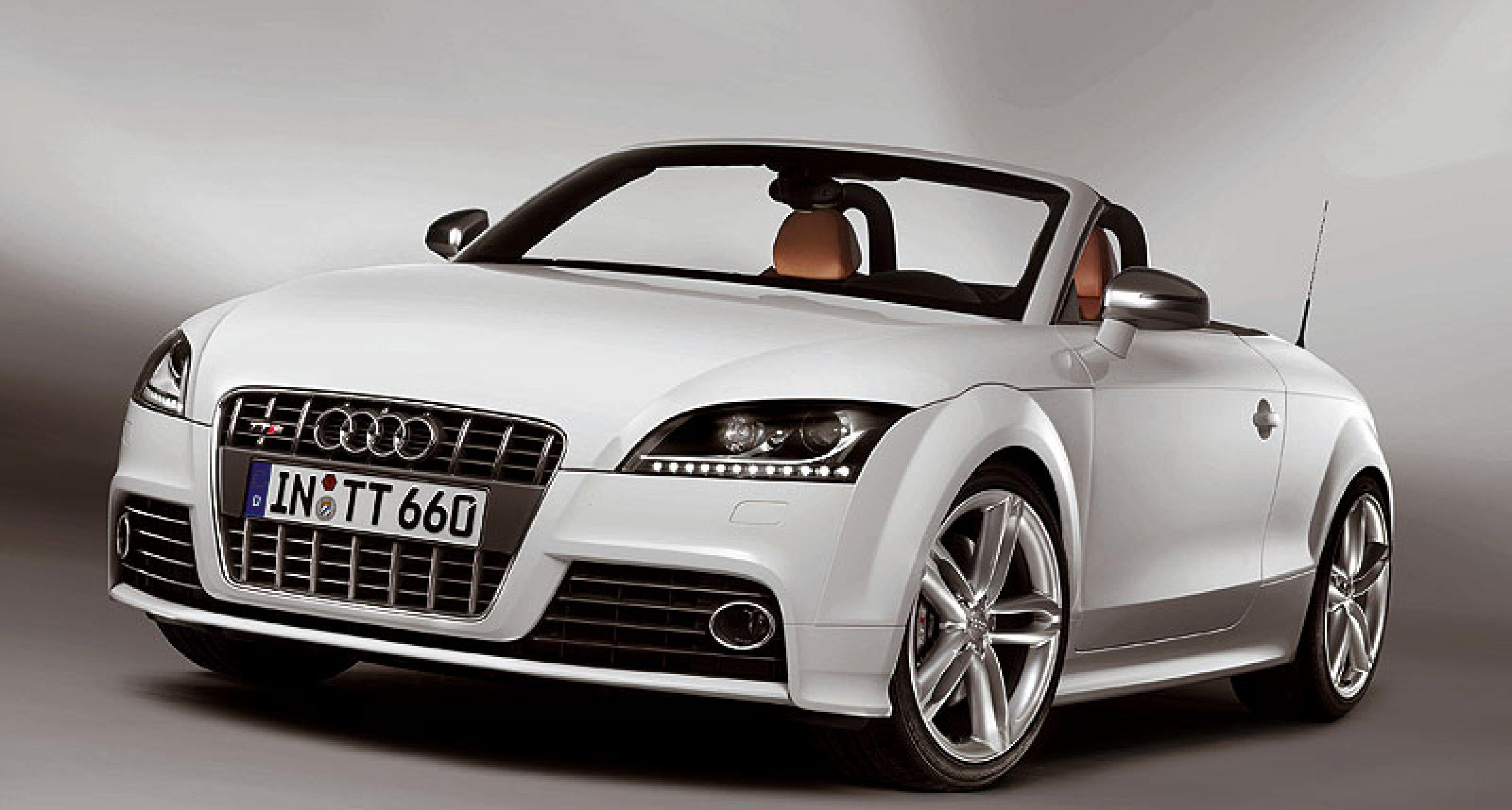 Audi TTS: Scharfes S