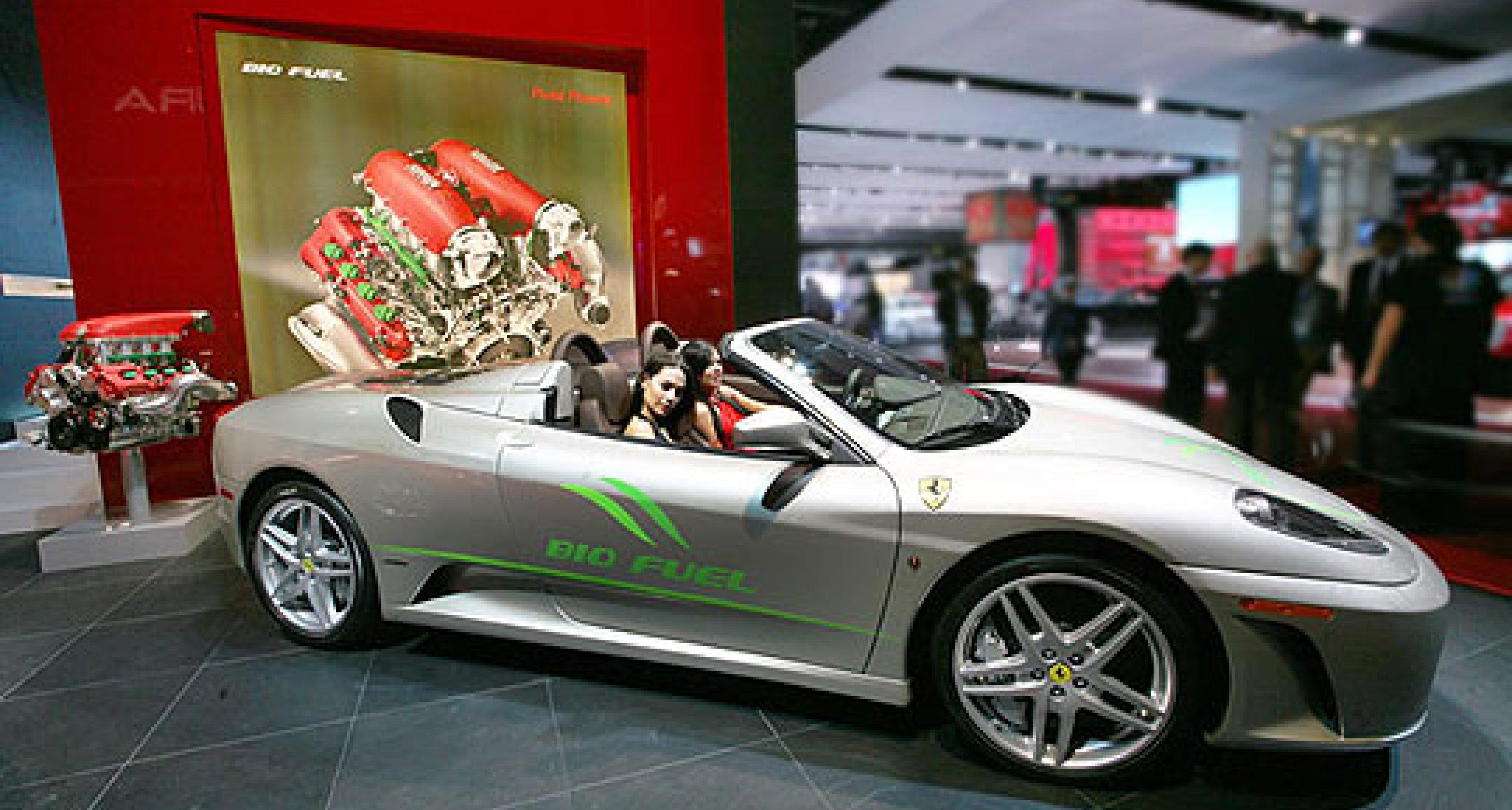 Ferrari F430 Spider Biofuel: A Biotifuel Mind