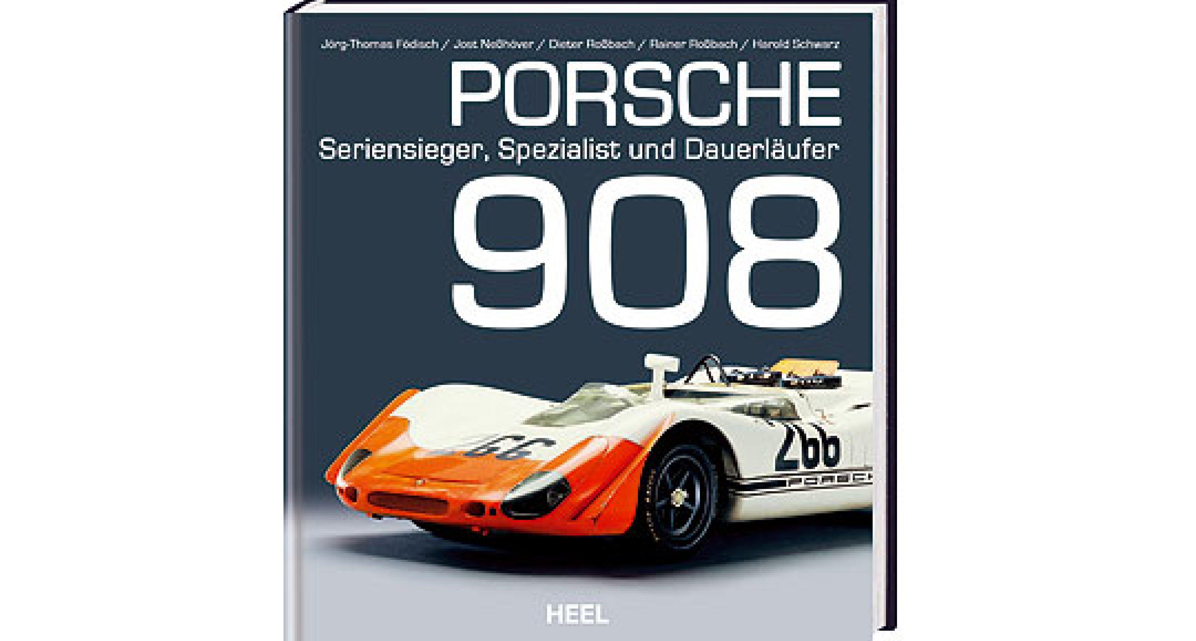 Neues Porsche 908 Buch: Der Dauerläufer