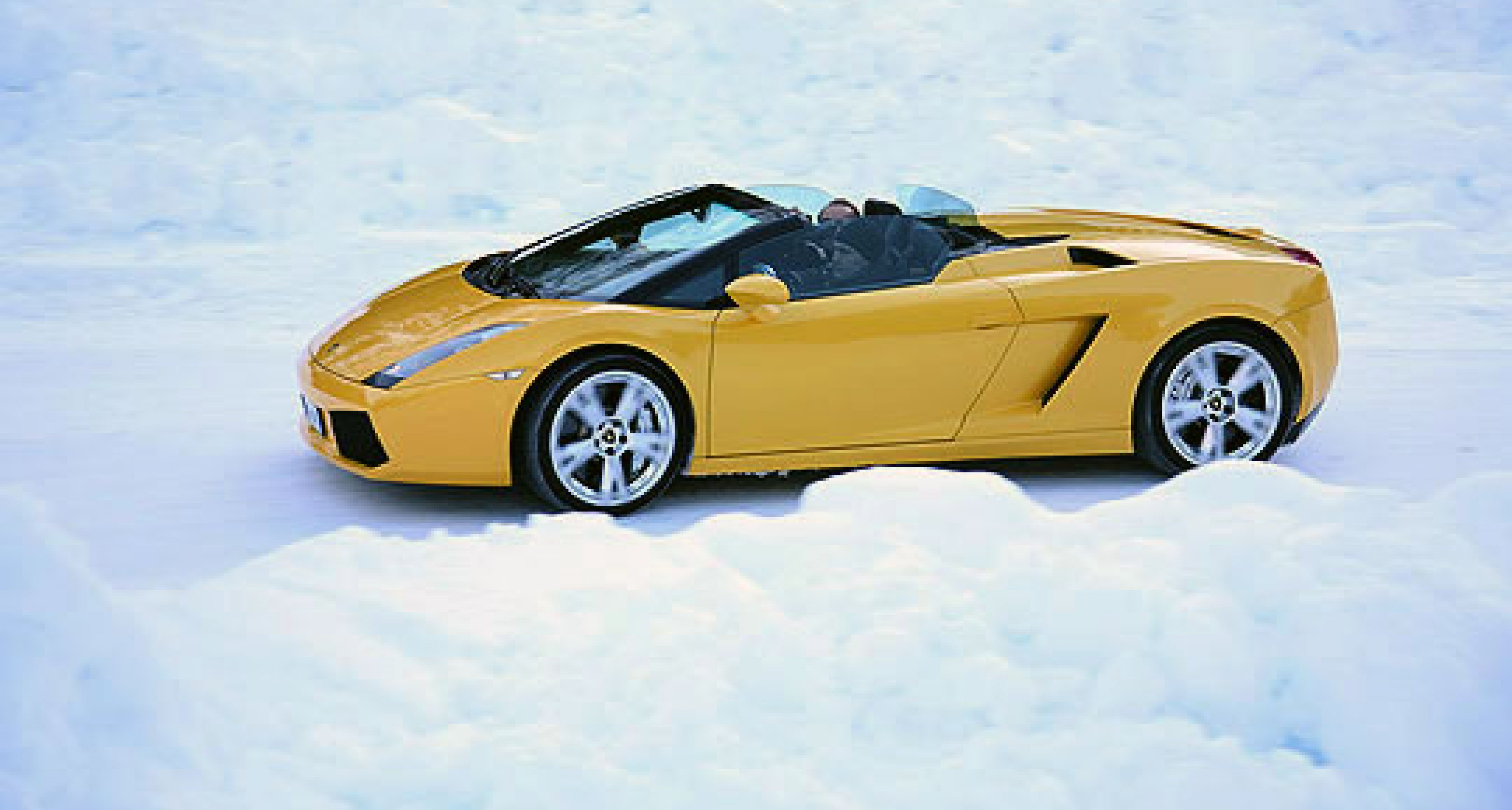 "Lamborghini Winter-Academy: Lektion ""Dynamik"""