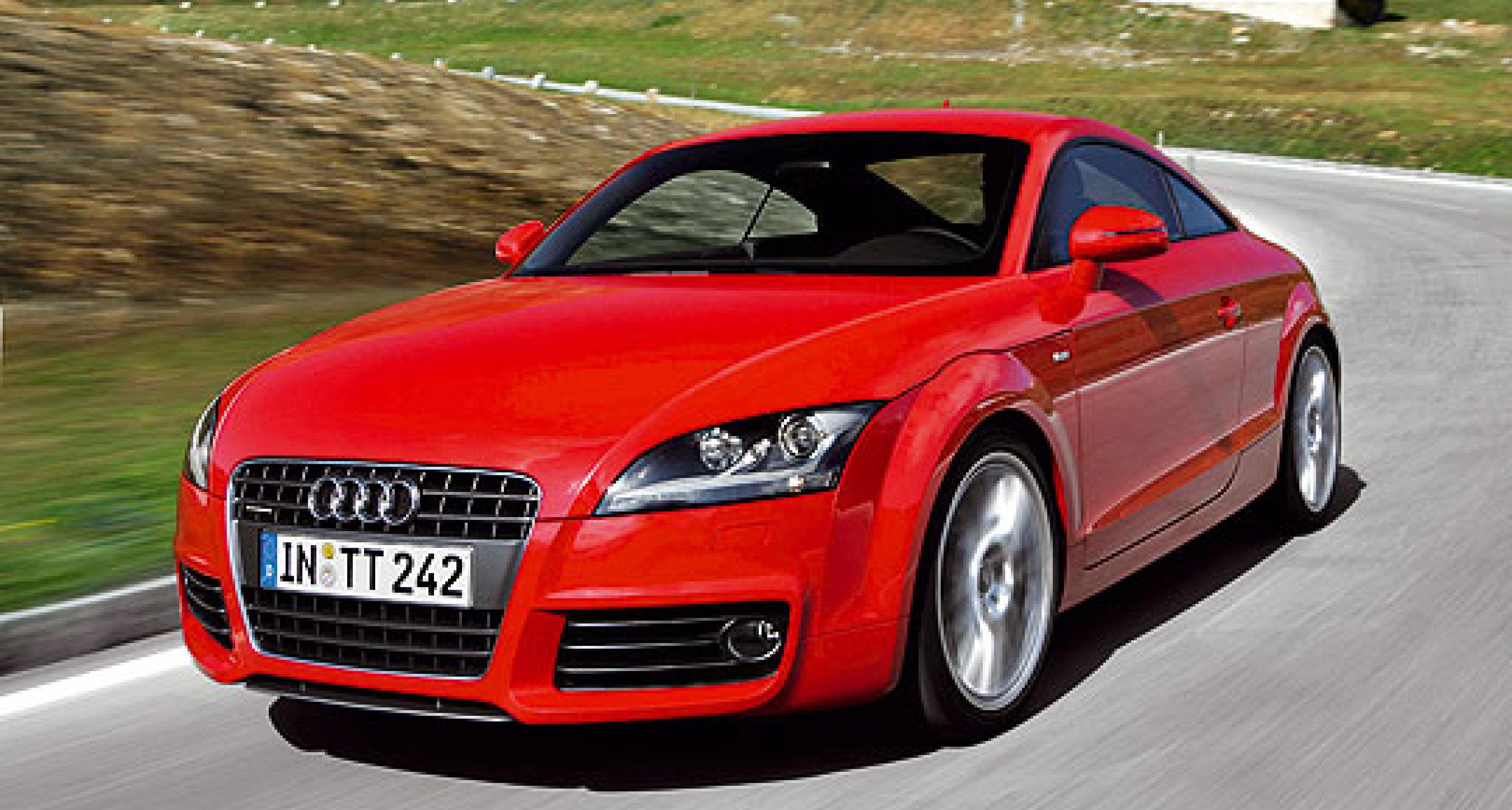 Audi TT TDI 2.0 Coupé und Roadster: T-Time