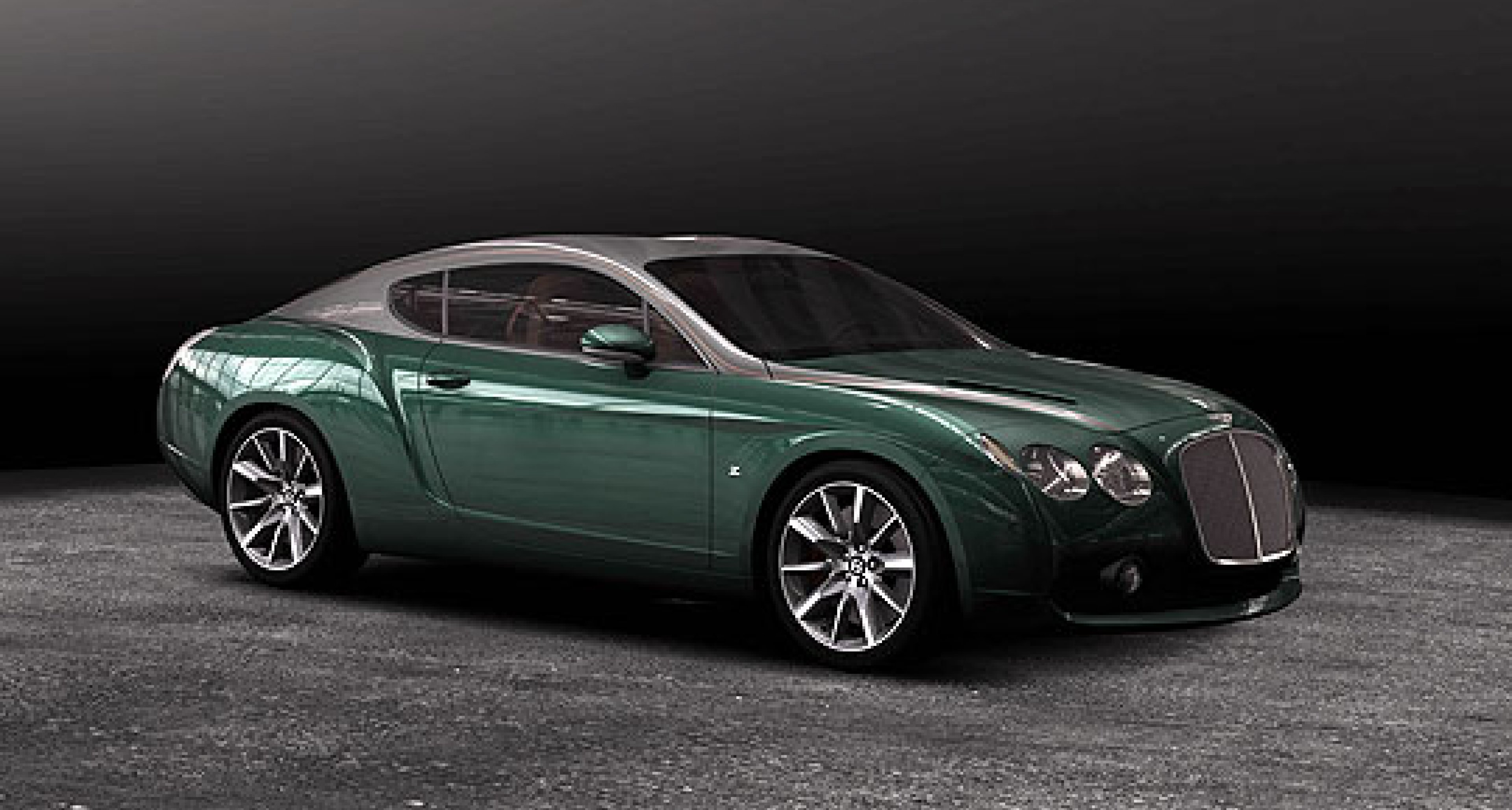 Bentley GTZ by Zagato: Speed Bubbles