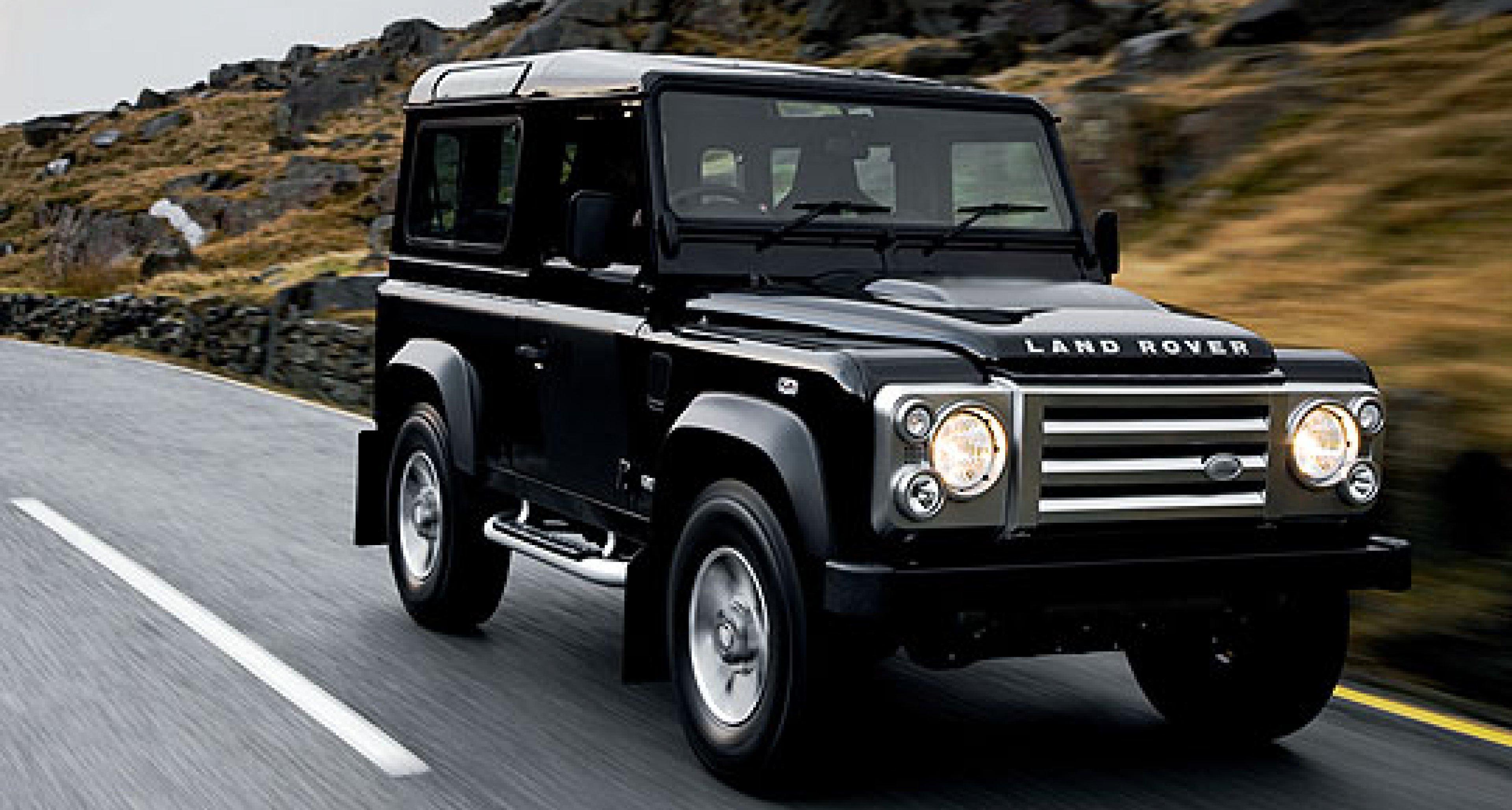 Land Rover Defender SVX: Adieu Tristesse