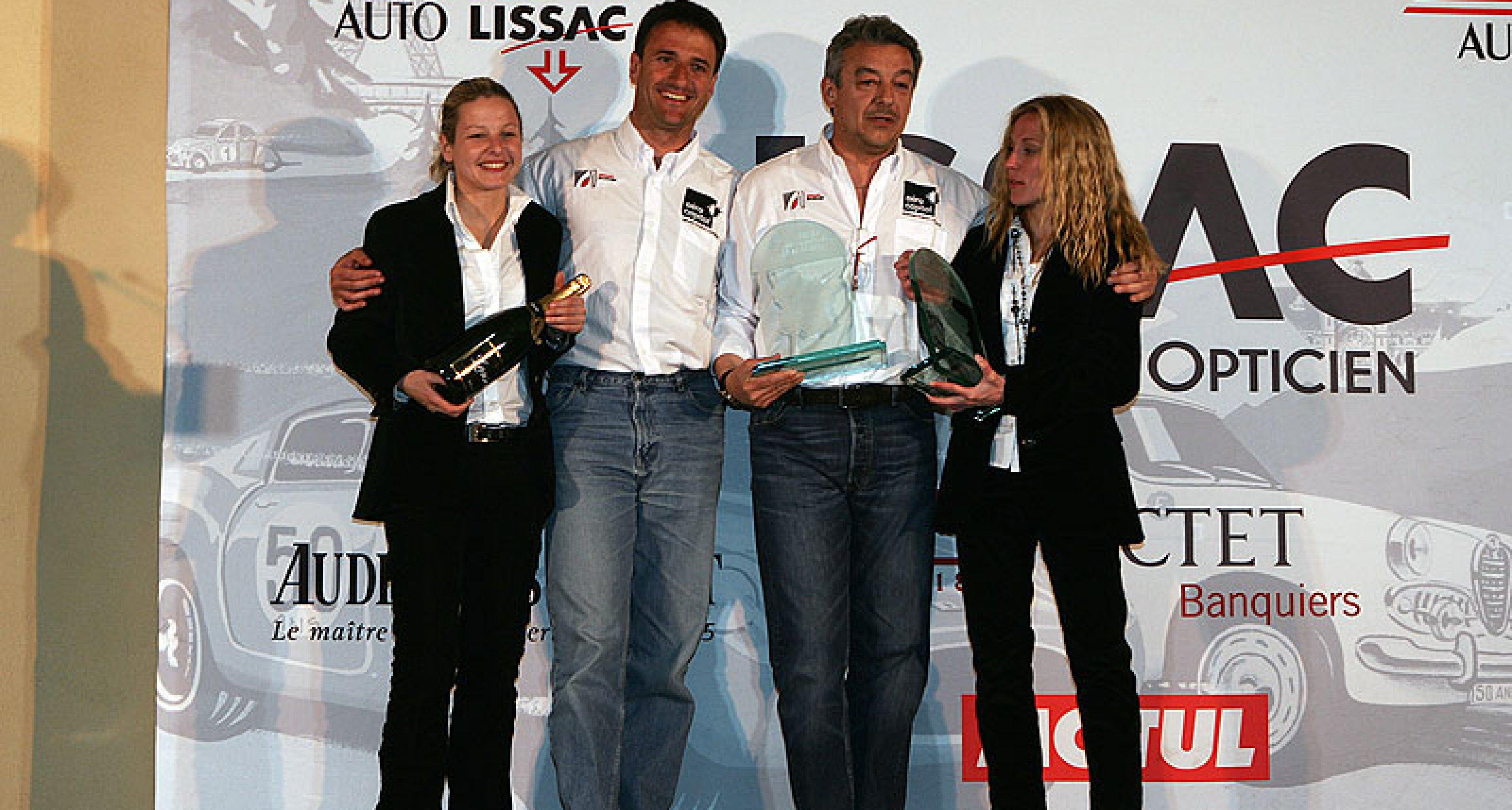 Tour Auto Lissac 2008 – results