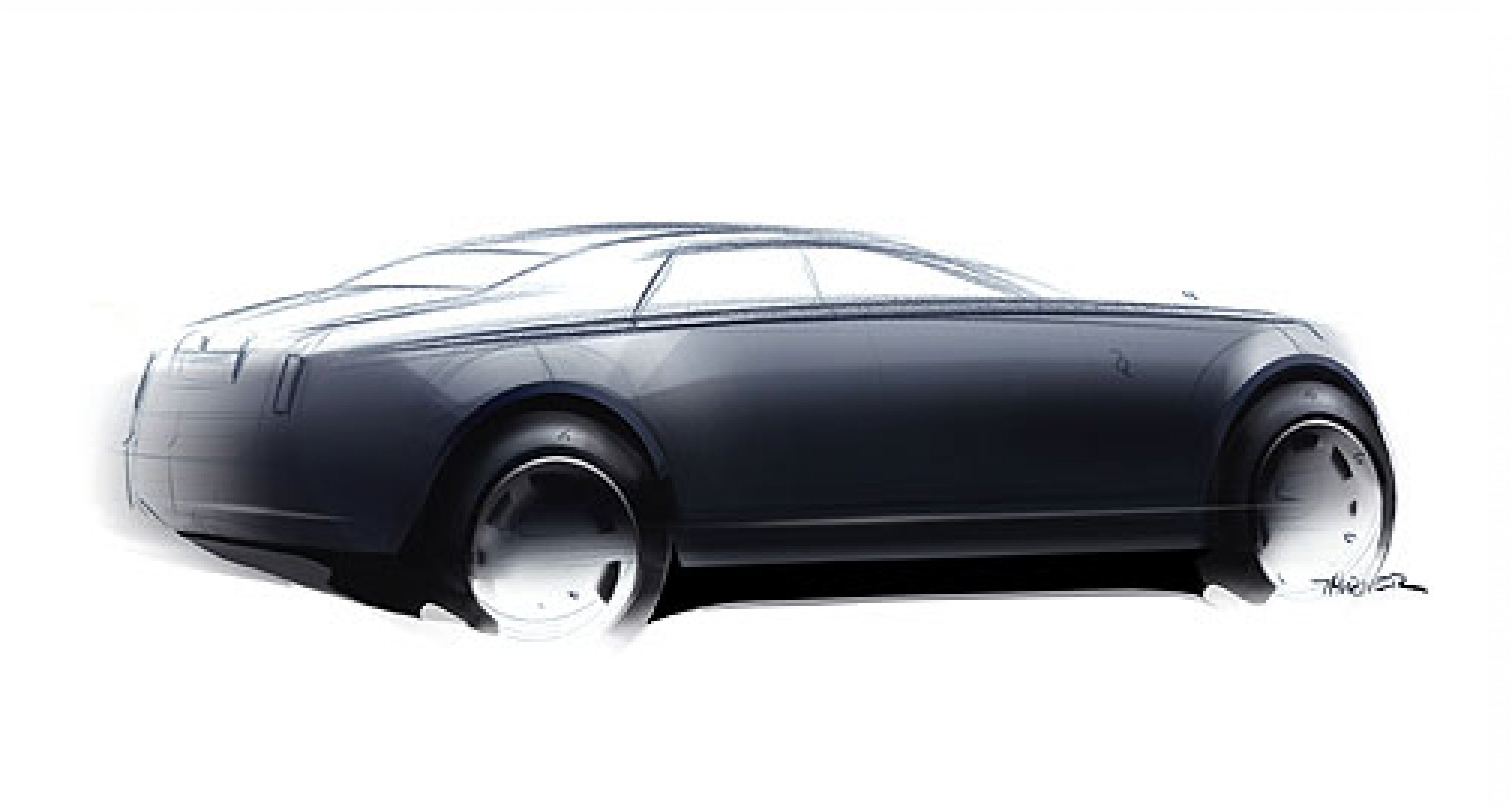 Rolls-Royce RR4: First Sketches Released