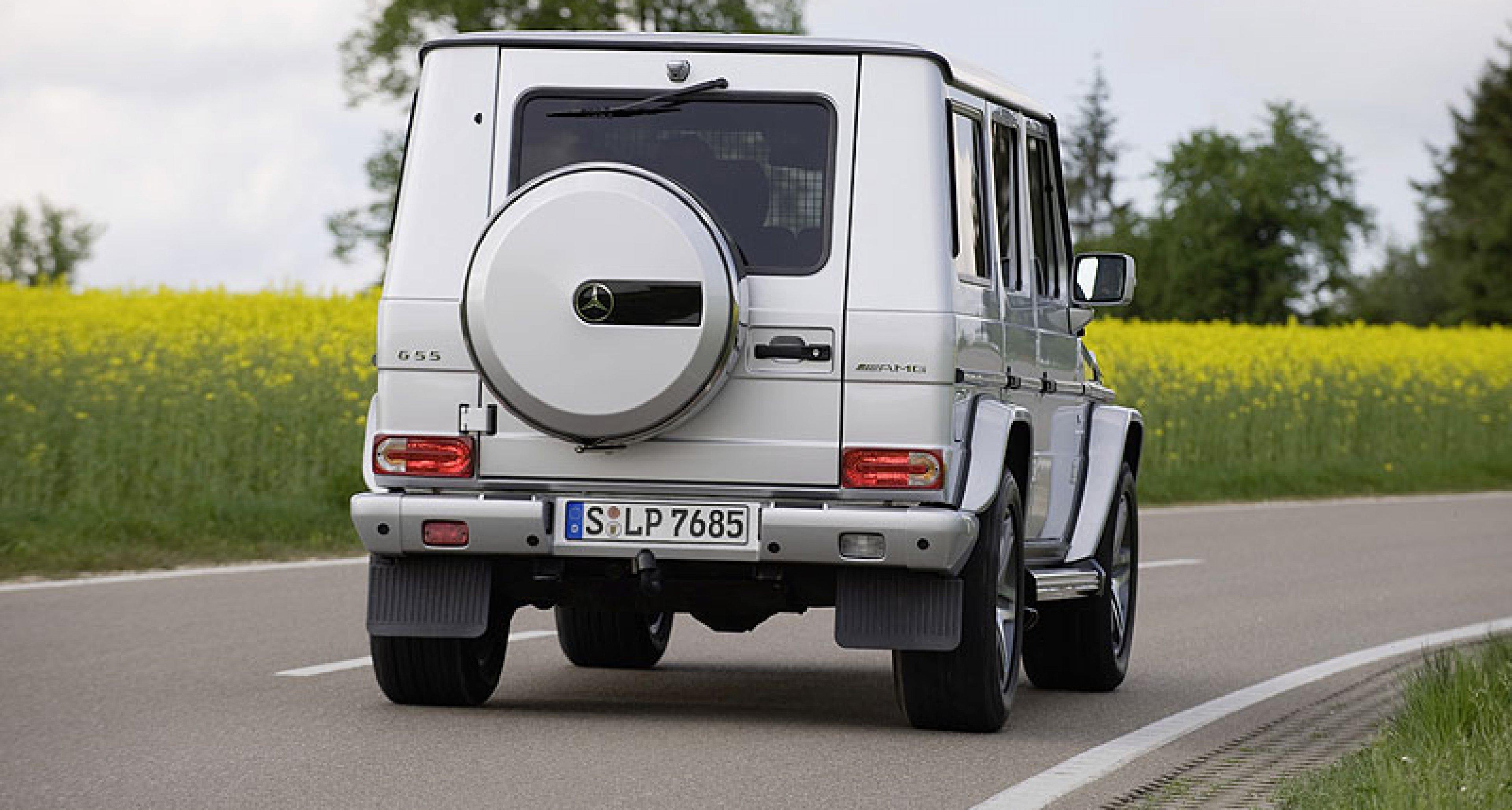 Mercedes-Benz G 55 AMG: Ahnenpflege