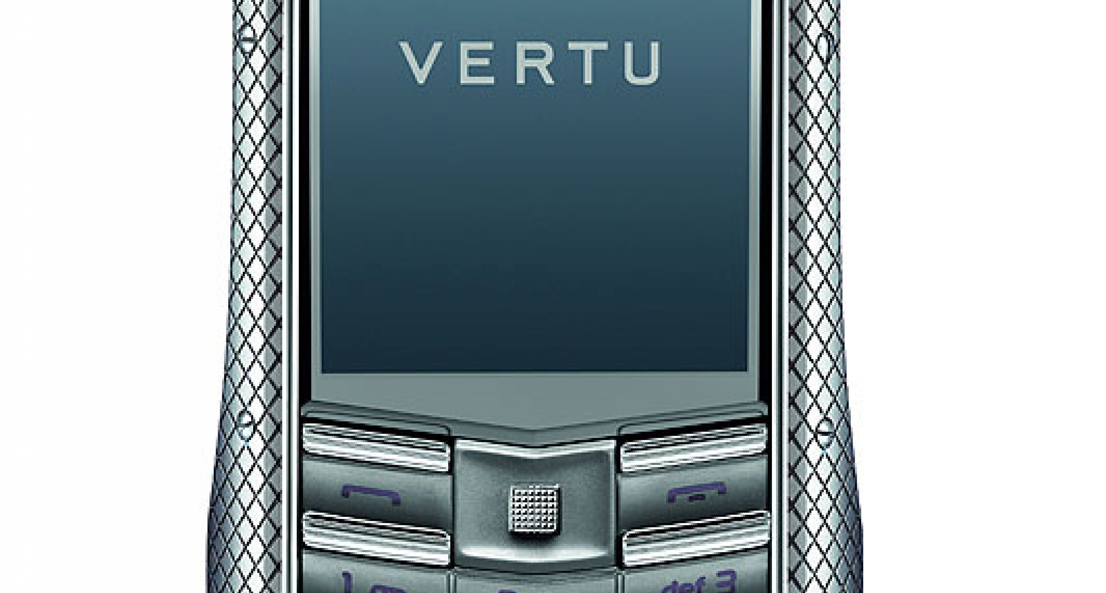 Vertu Ascent TI: Knurled and Checked