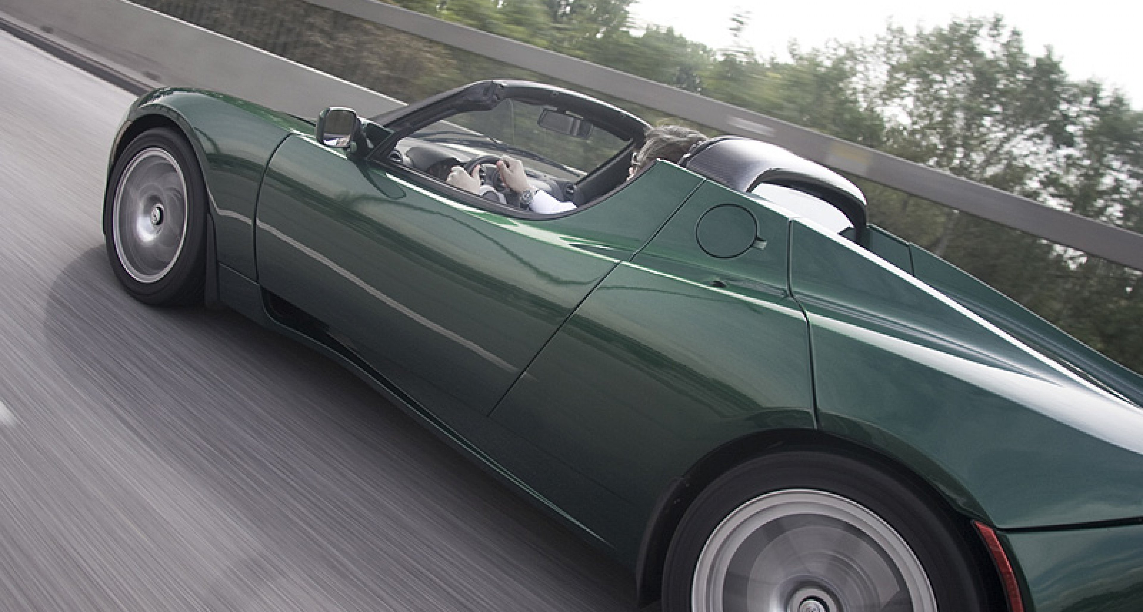 Fast and Friendly: Tesla Roadster