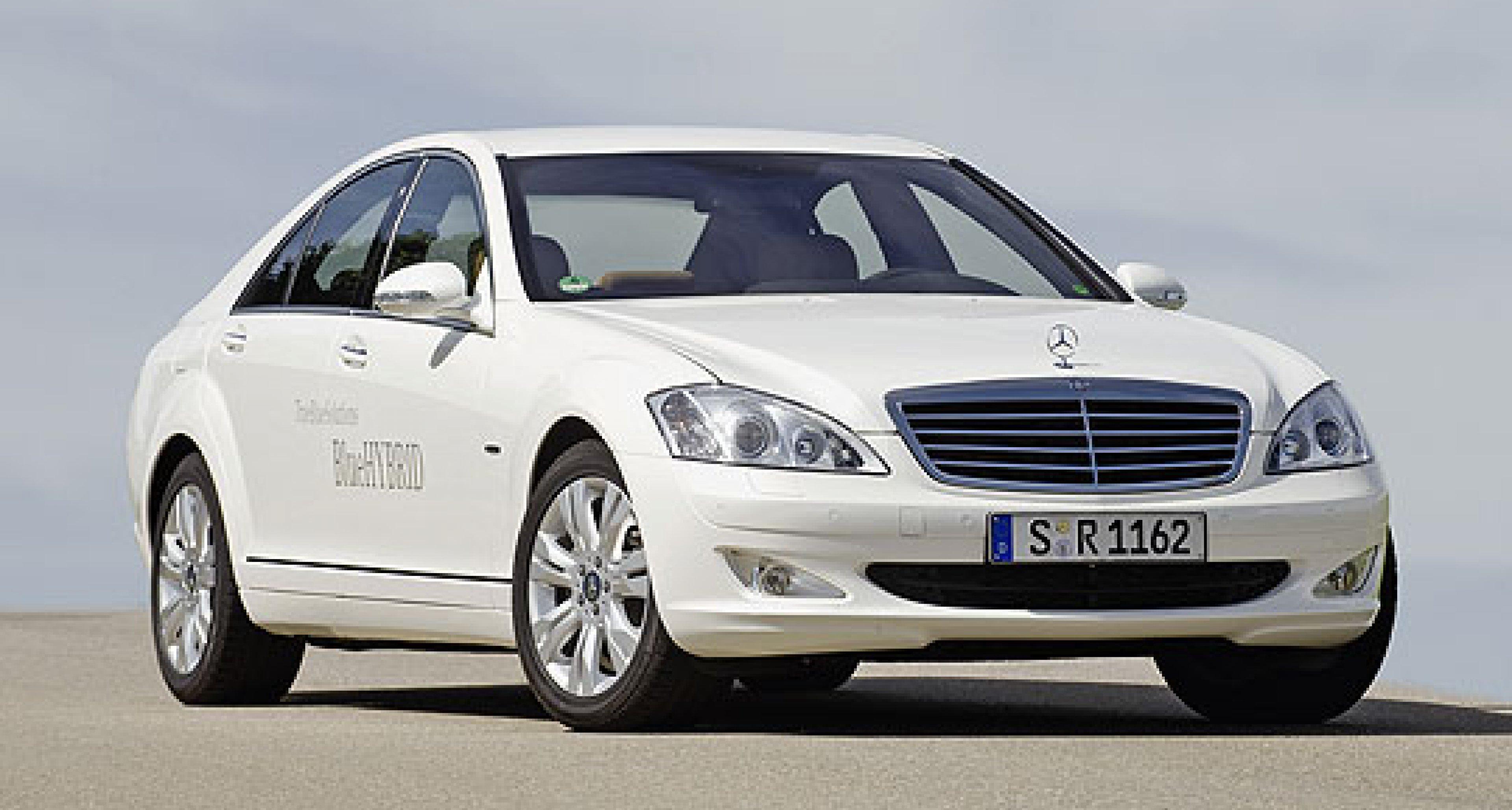 Mercedes-Benz S 400 BlueHybrid: Allez les bleus