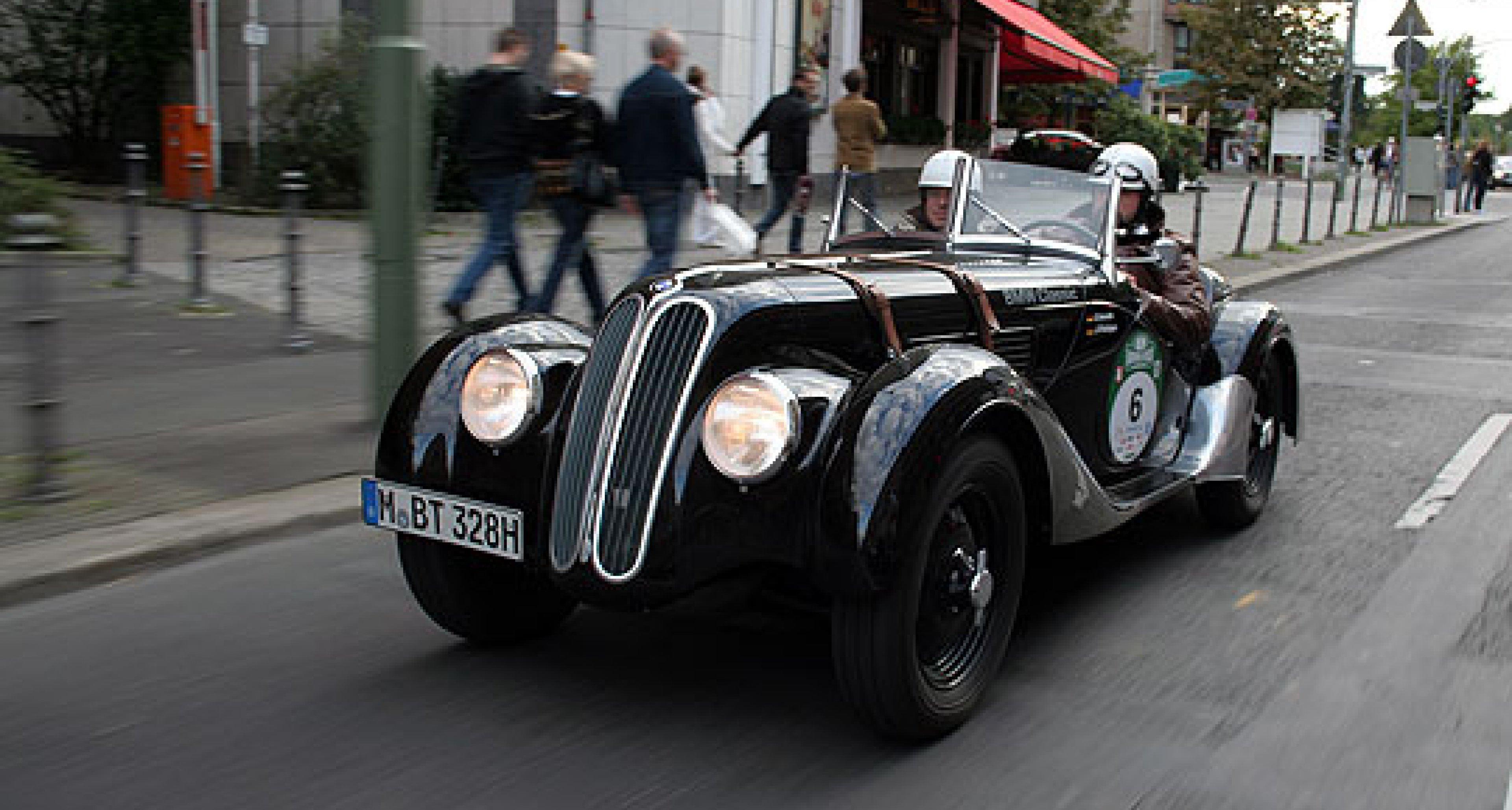BMW 328 Roadster: Kleiner schwarzer Prinz