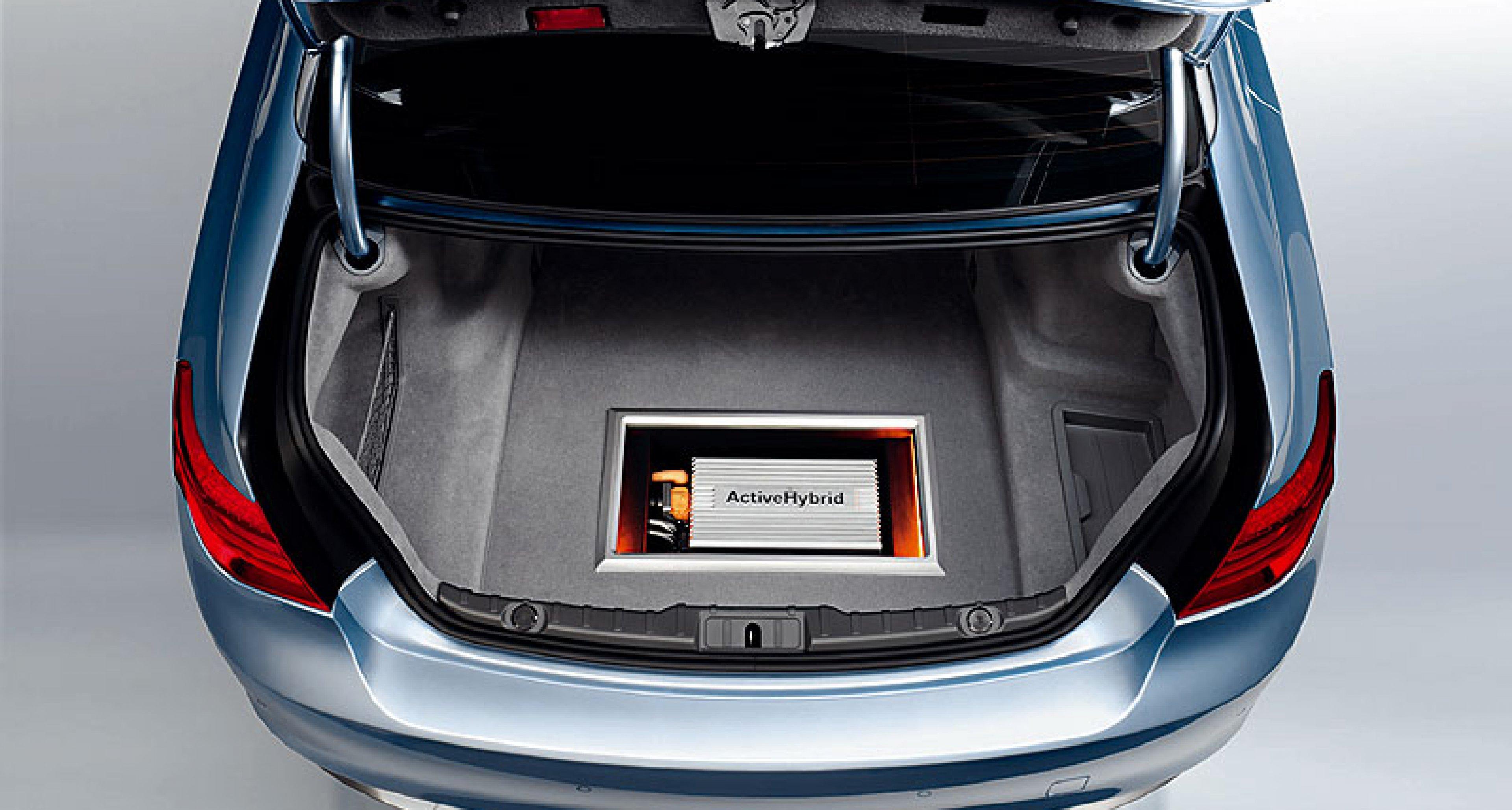 BMW Concept 7er Active Hybrid: Pariser Klima