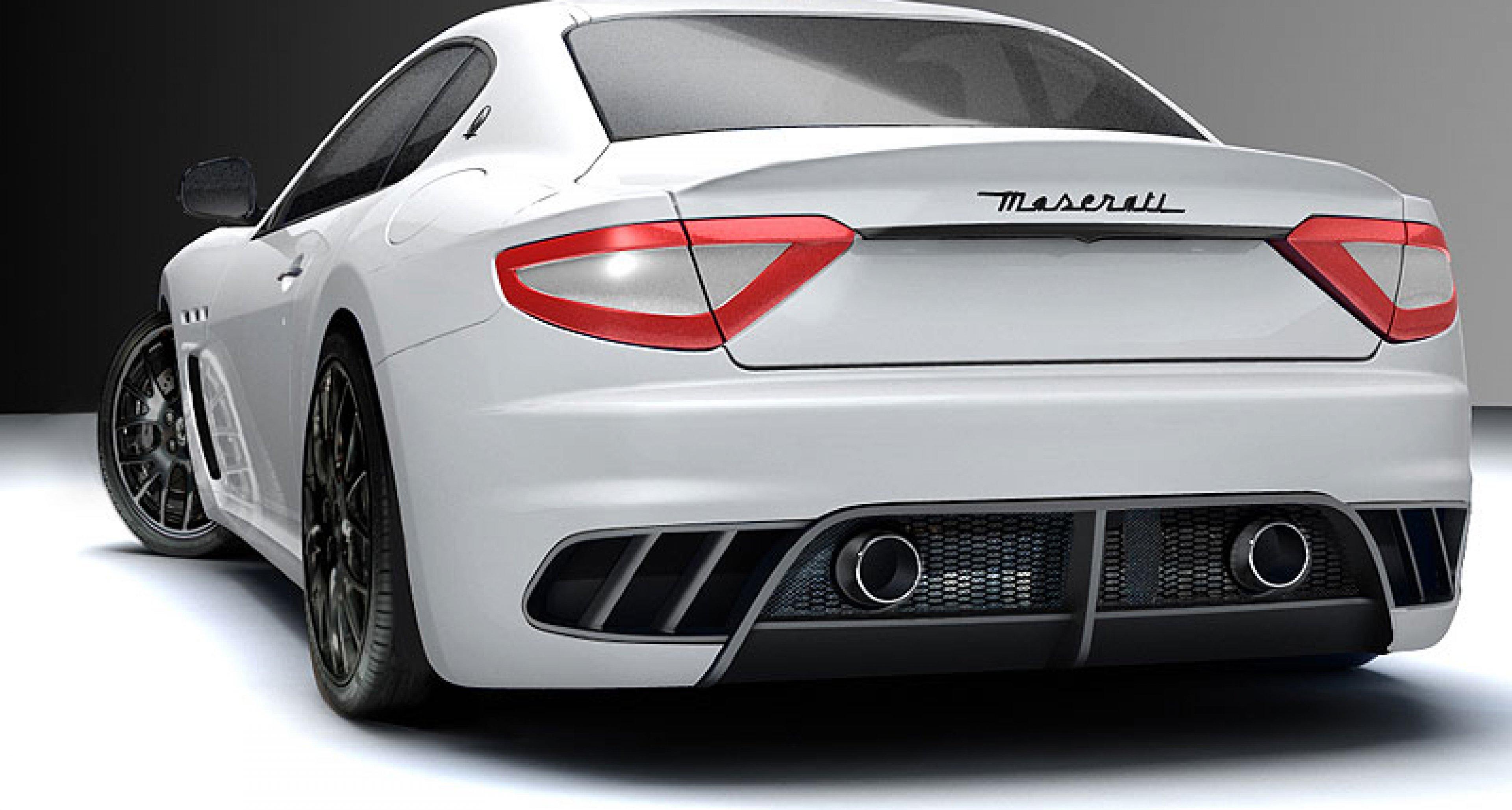 Maserati GranTurismo MC Concept: Rennsportvision