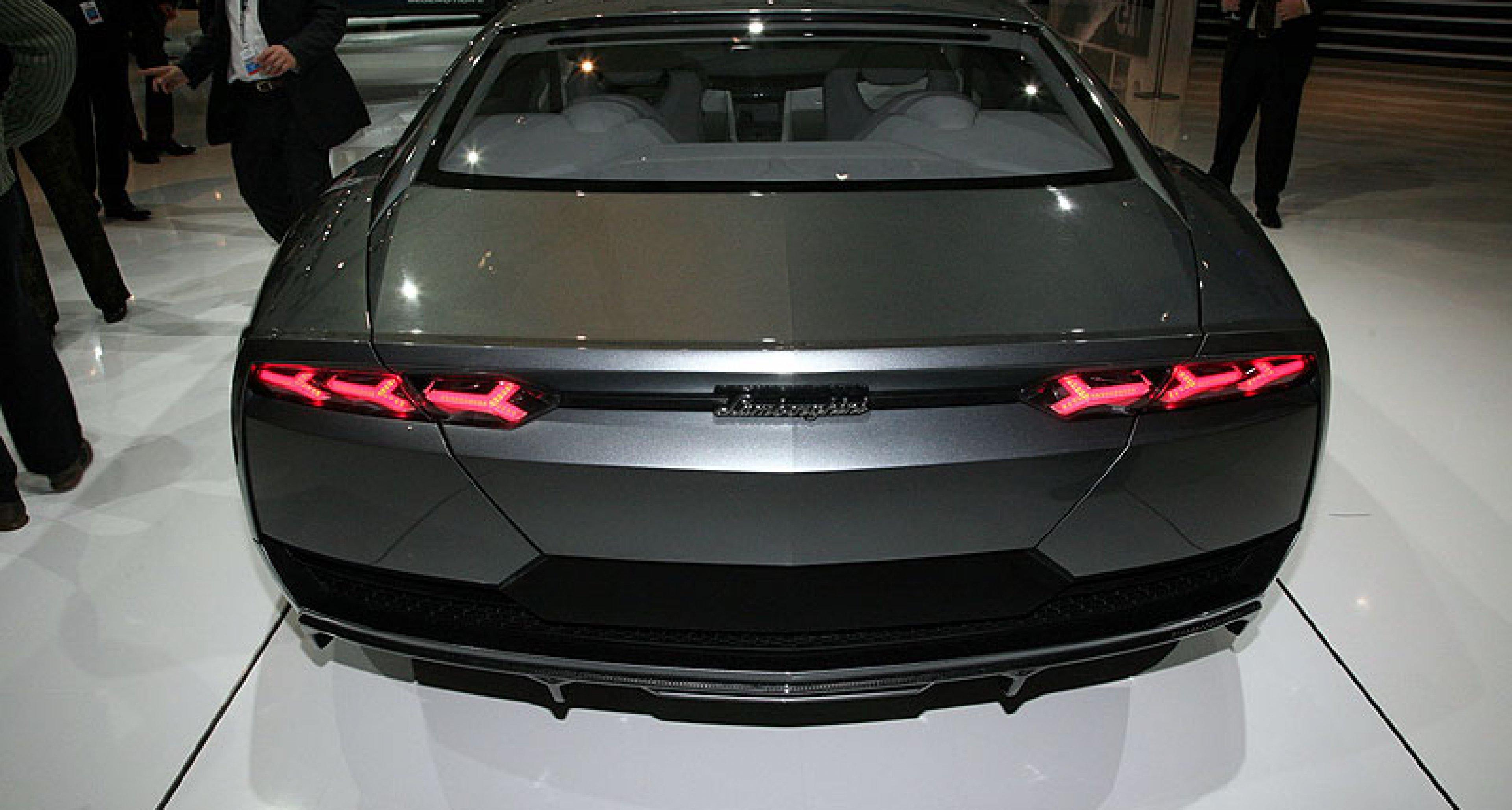 Lamborghini Estoque: Four seater Concept Debuts in Paris