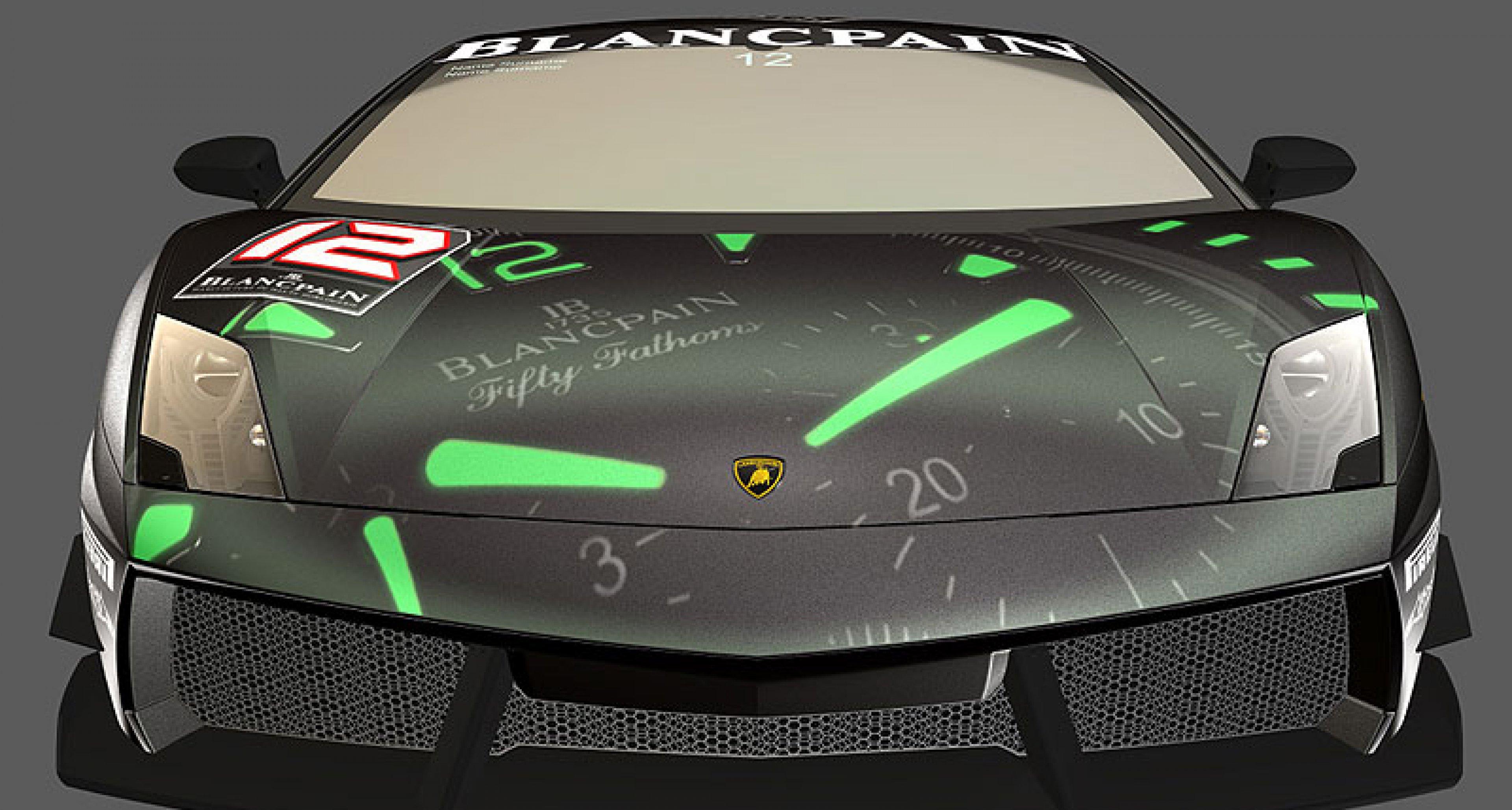 Lamborghini Gallardo LP 560-4 Blancpain Super Trofeo: Lightweightracer