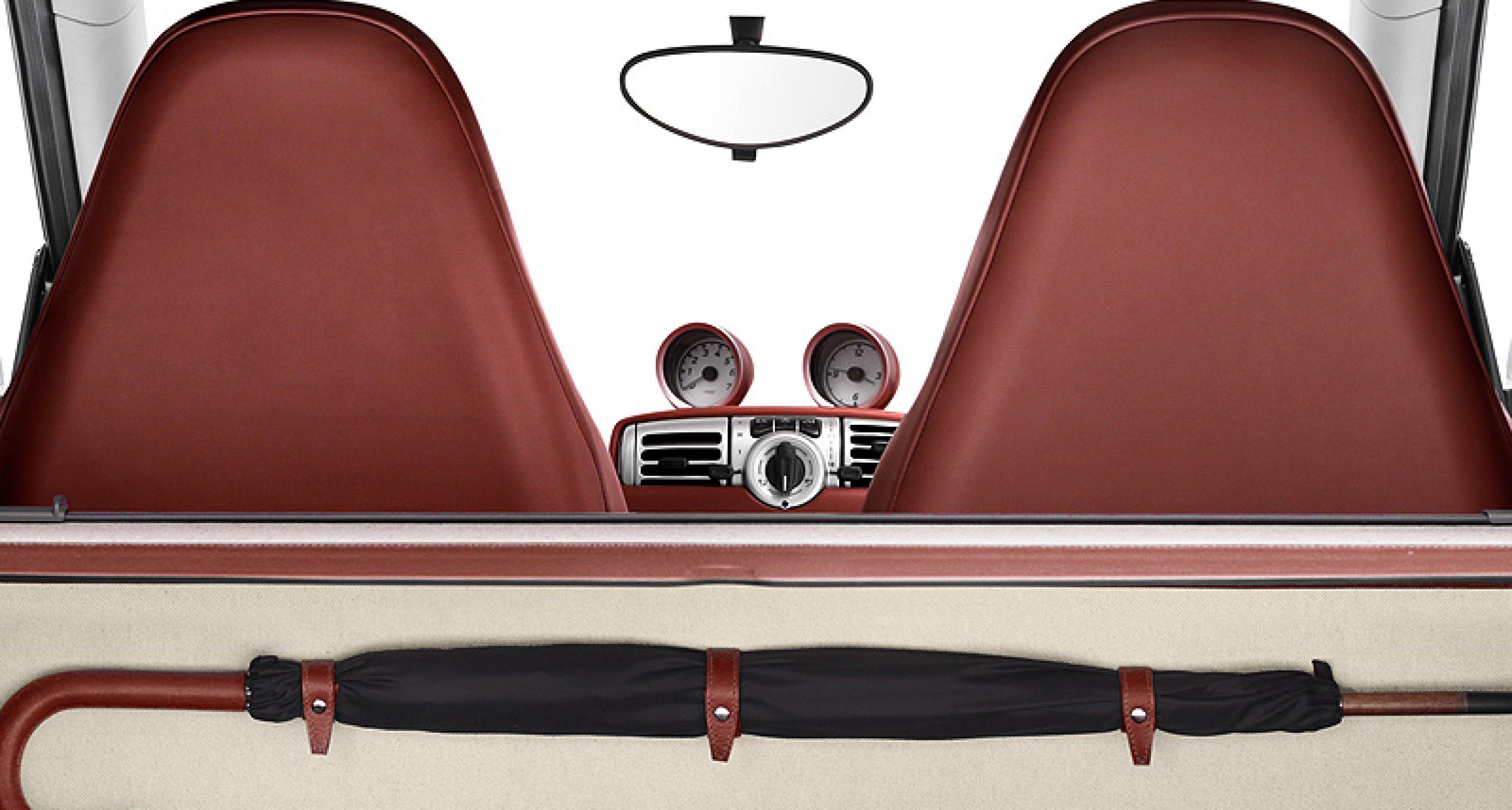 Smart fortwo Édition Toile H: Hermès Upholsters 10 Smarts for Paris Dealer