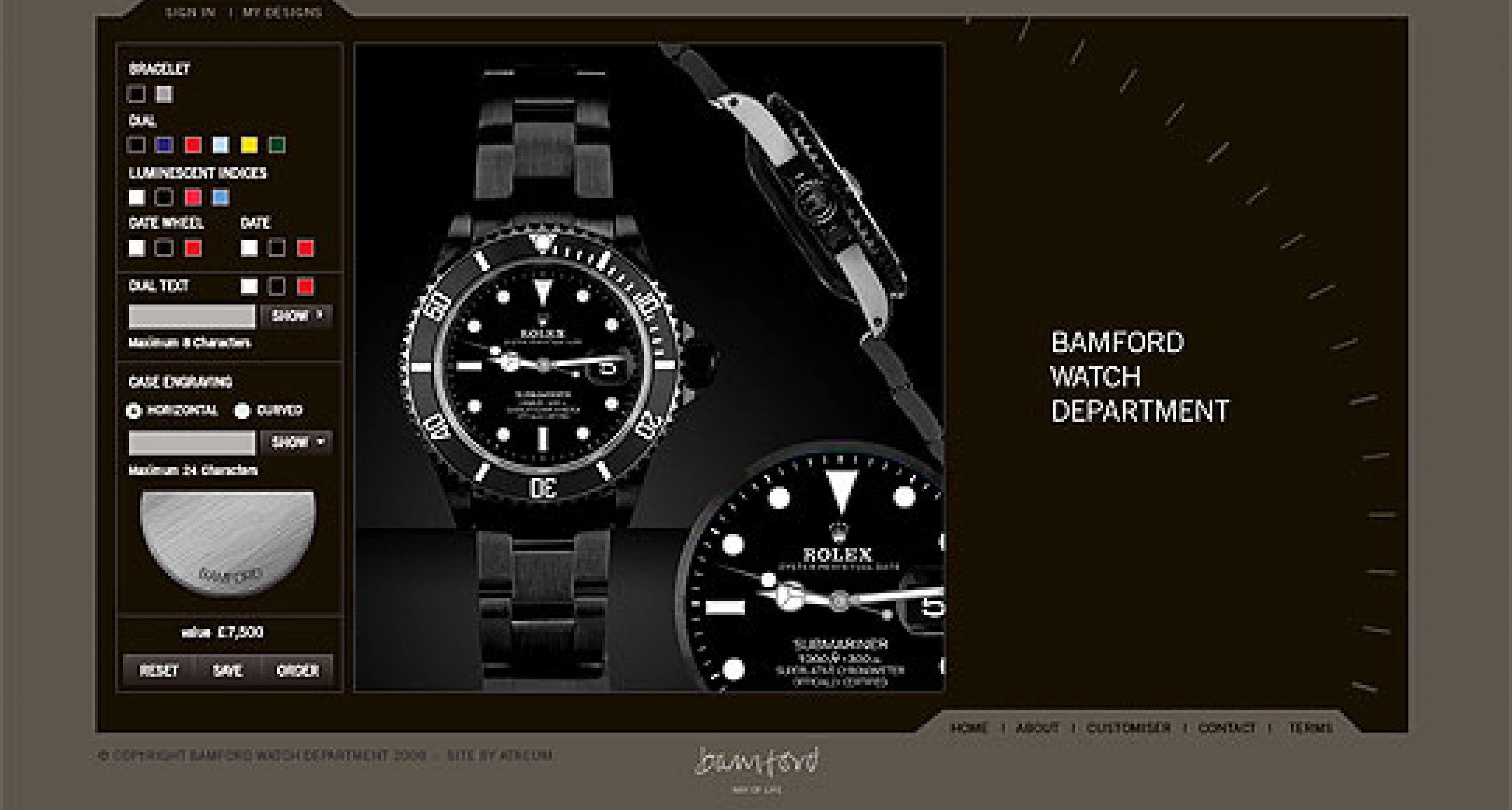 Bamford Watch Department: Now Online