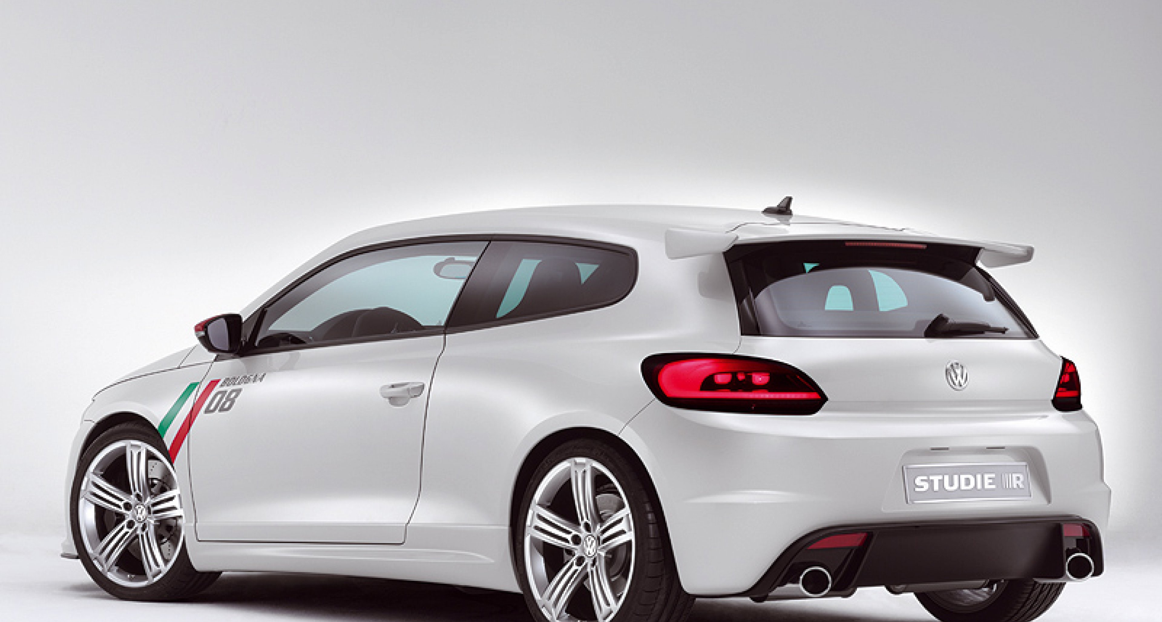 VW Scirocco Studie R: Rocco und seine Brüder