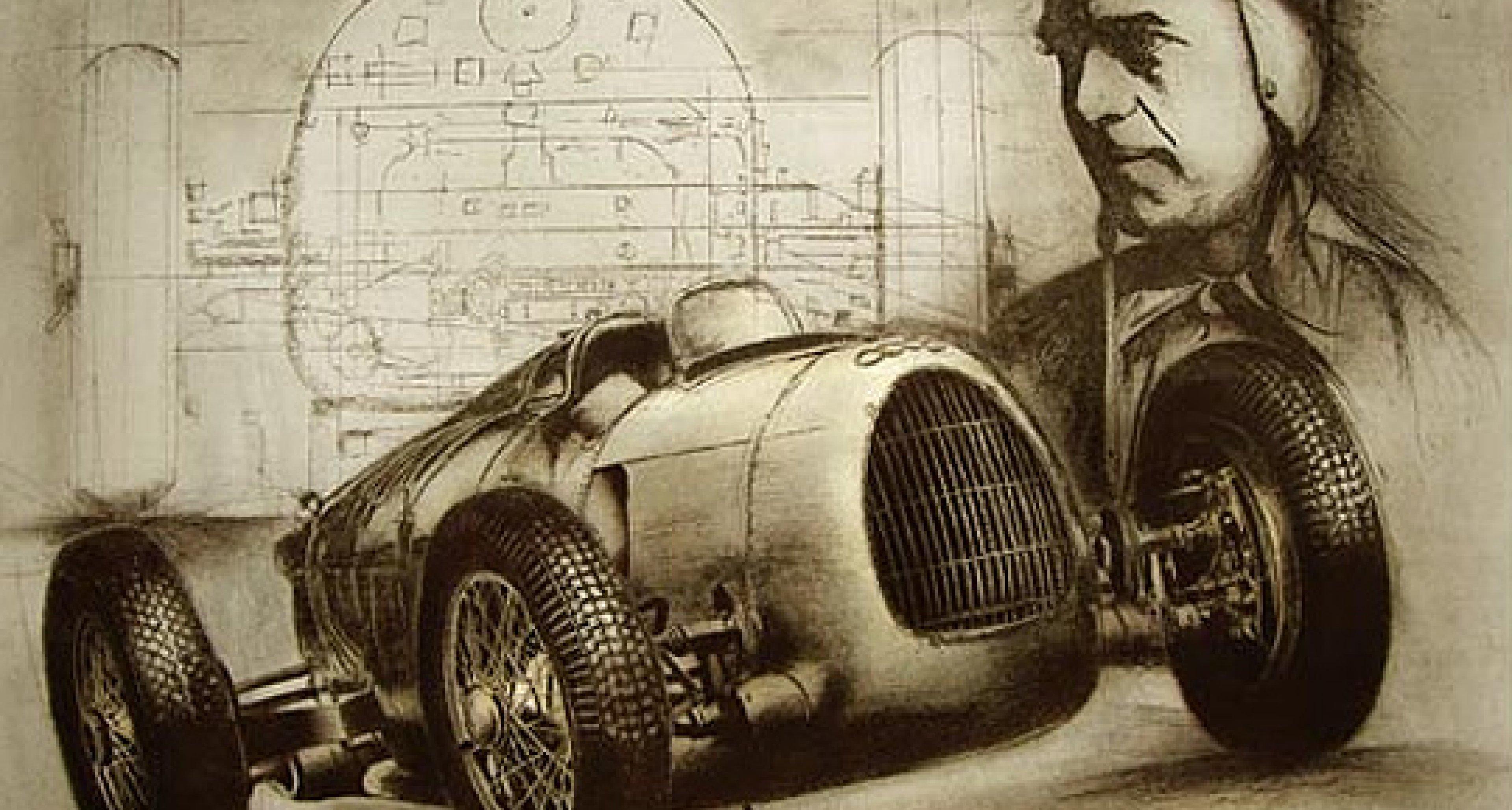 Classic Driver verlost automobile Kunst
