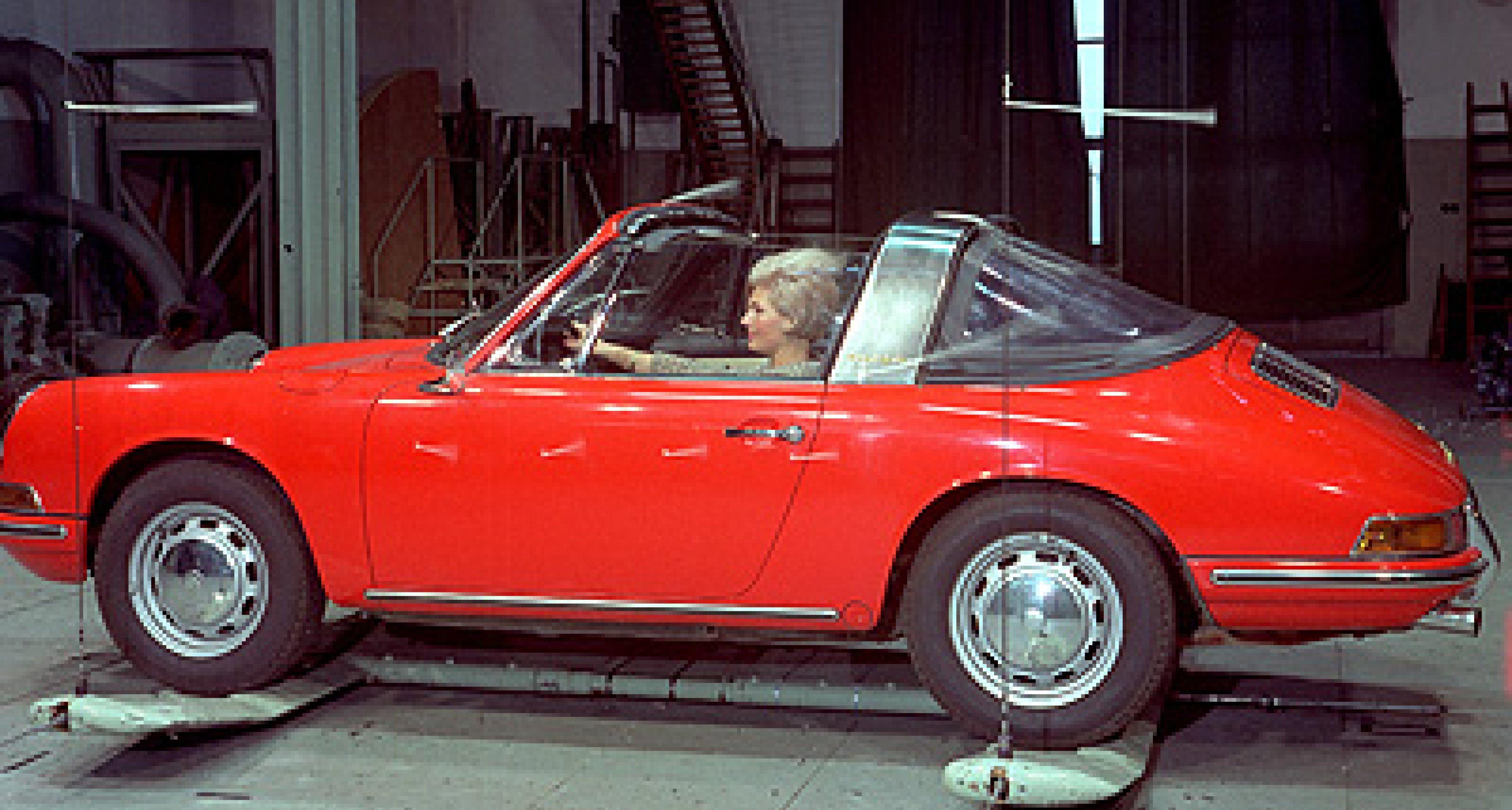 Porsche Targa Generationen
